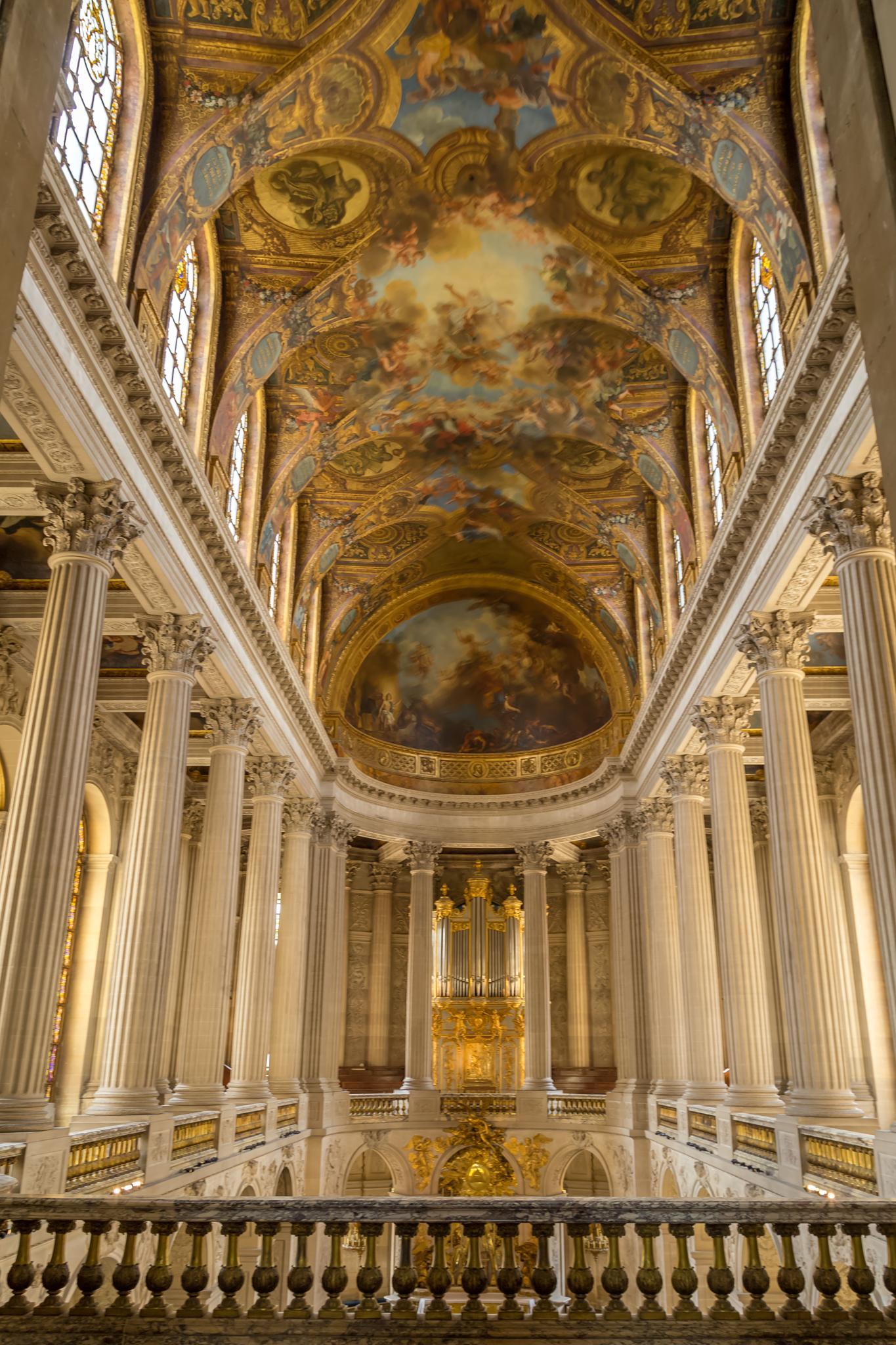 Versailles Hallway by charles desrosiers