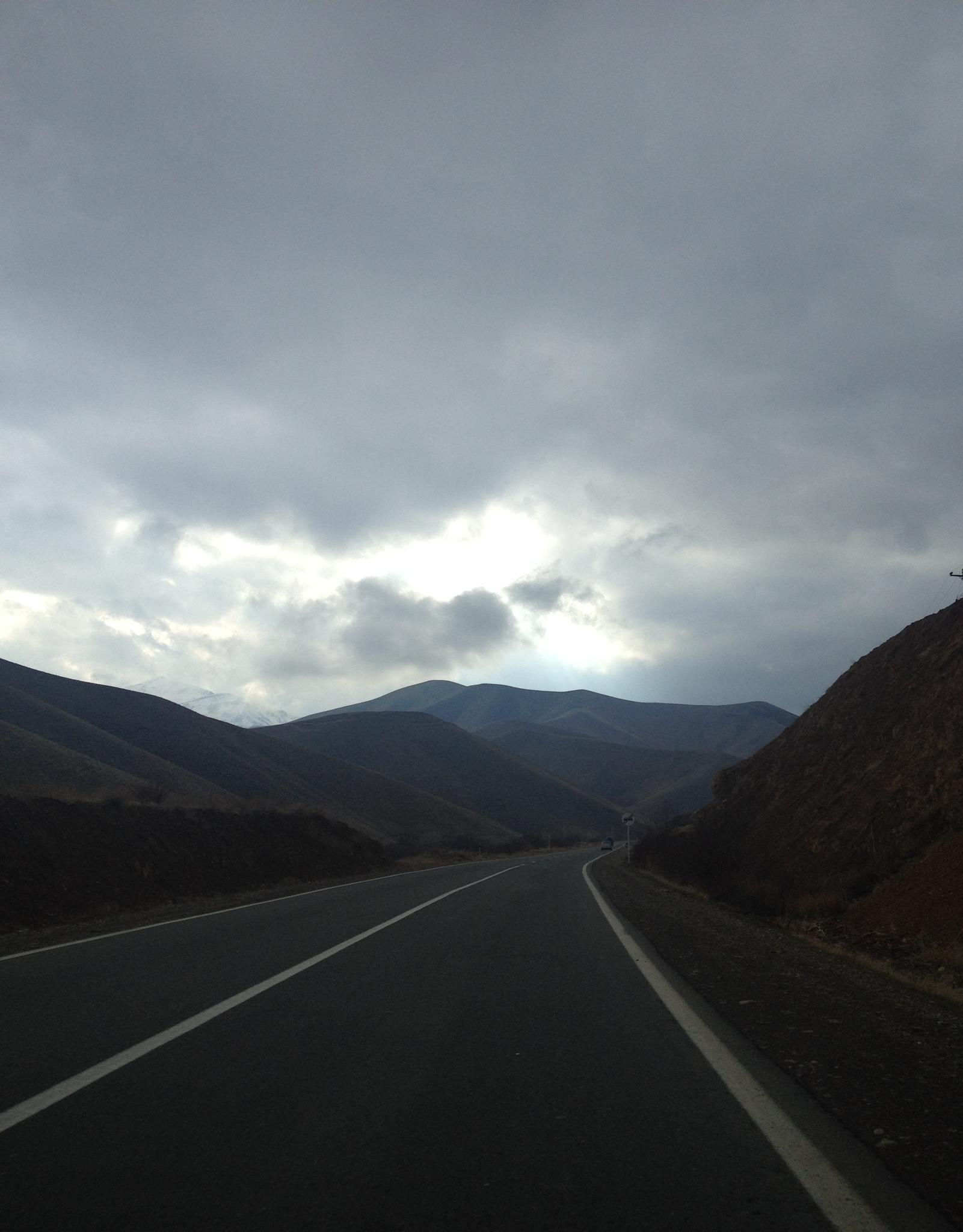 on the road 2... by rzgar miri