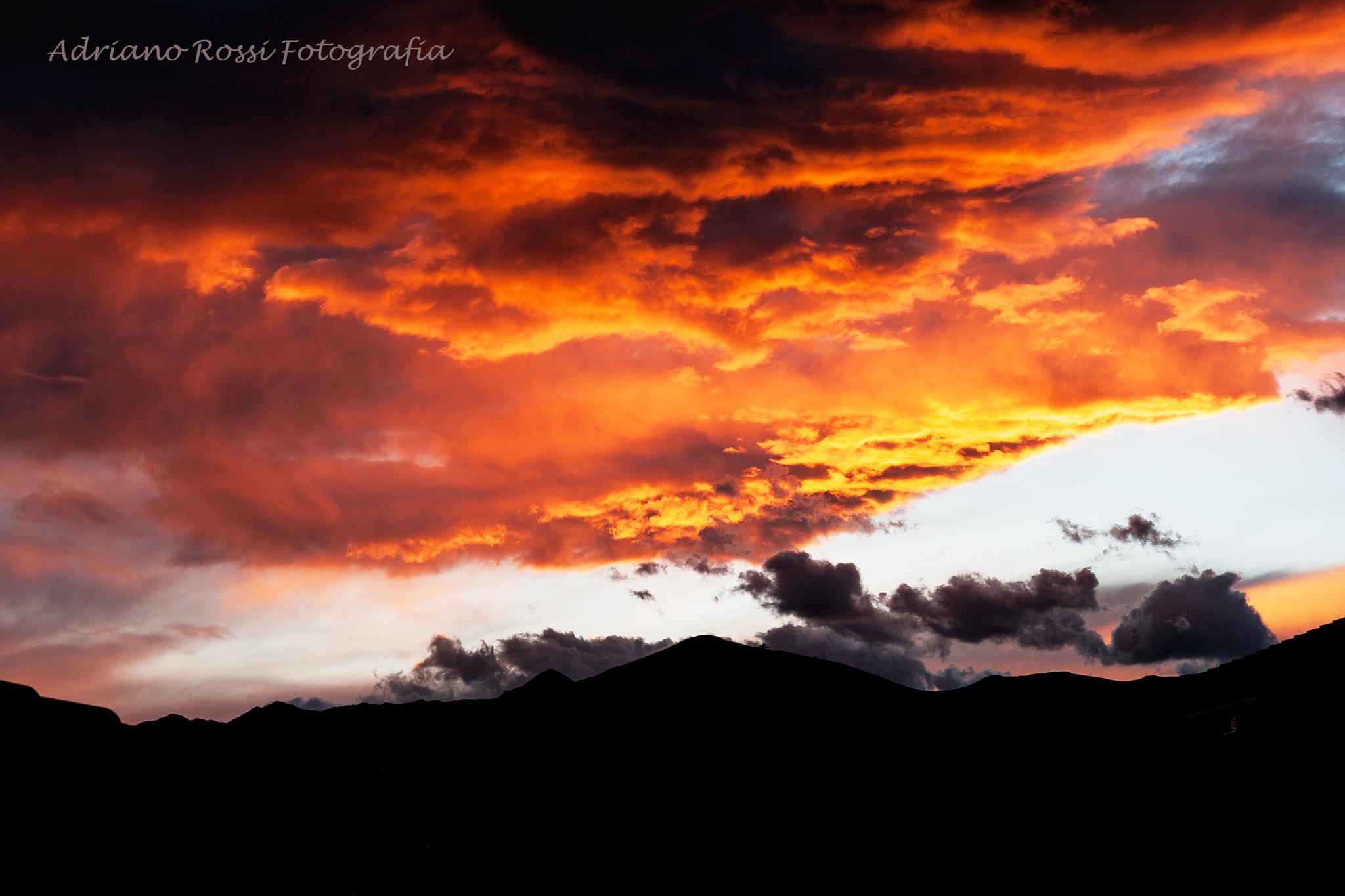 Wind storm in the mountains by adriano.rossi.7965