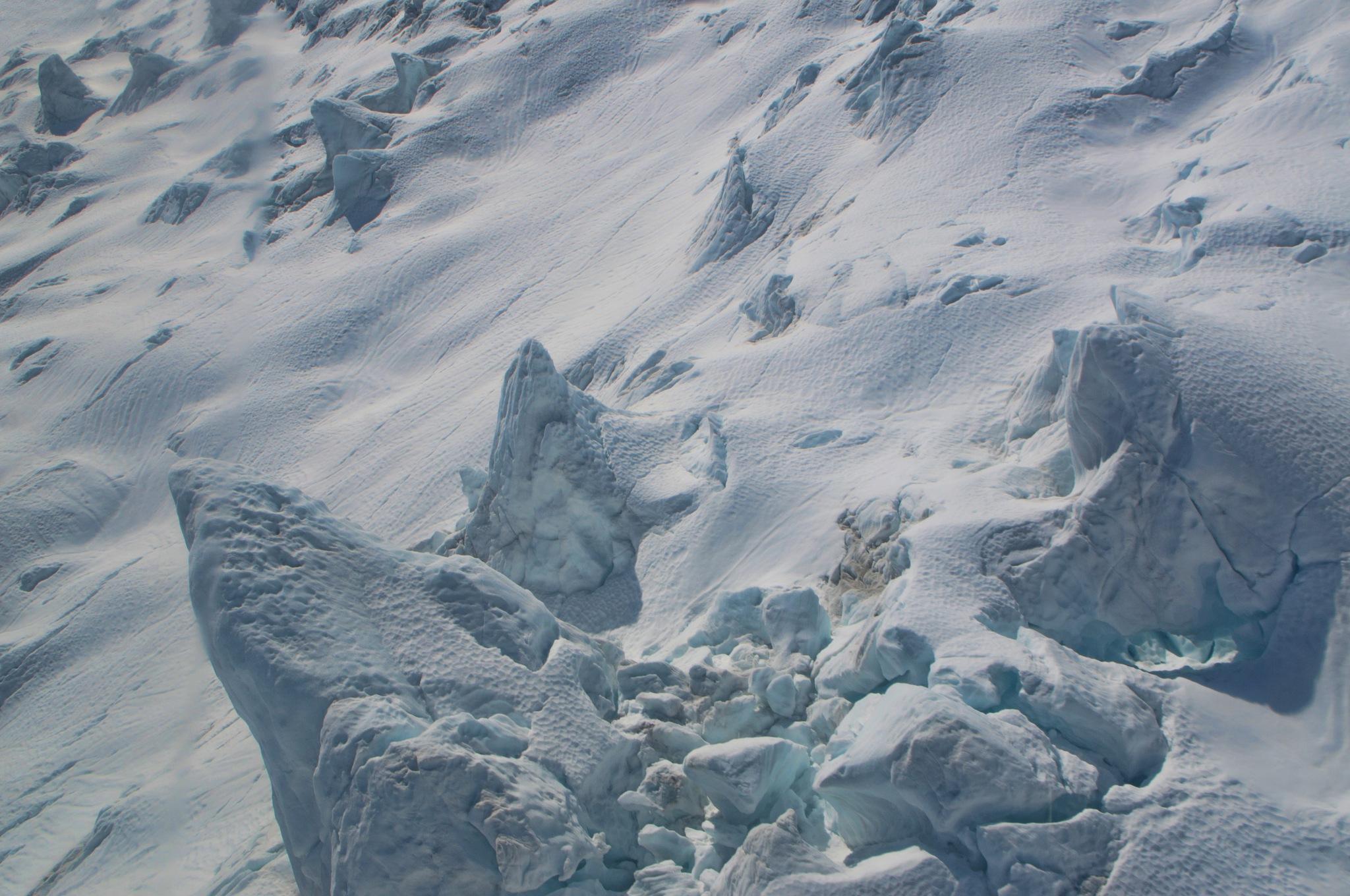 Scenic Heli-Hike Franz Josef Glacier Helicopter Ride by Derek Clarke