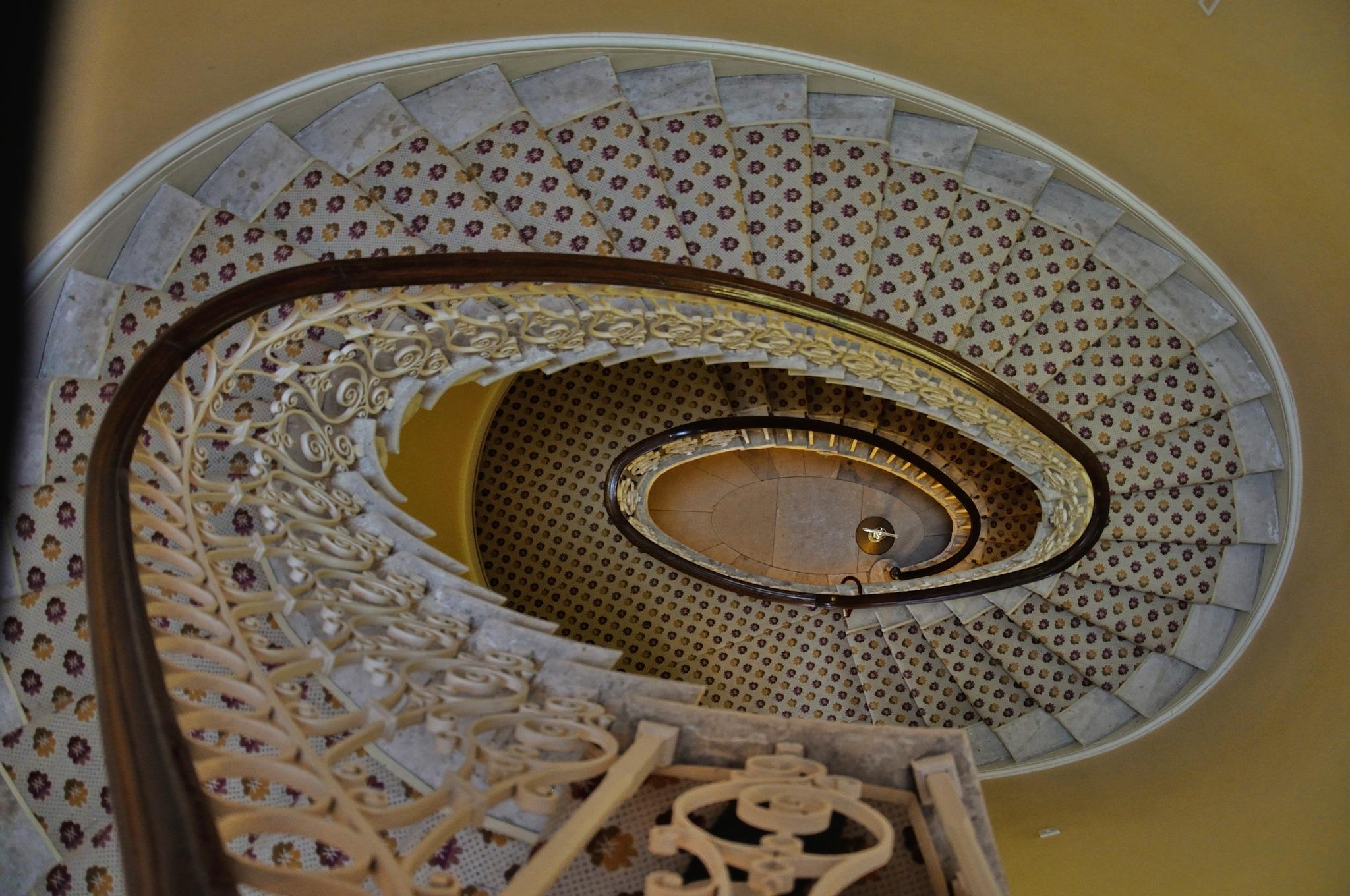 My Photos (120) Stairs by Derek Clarke