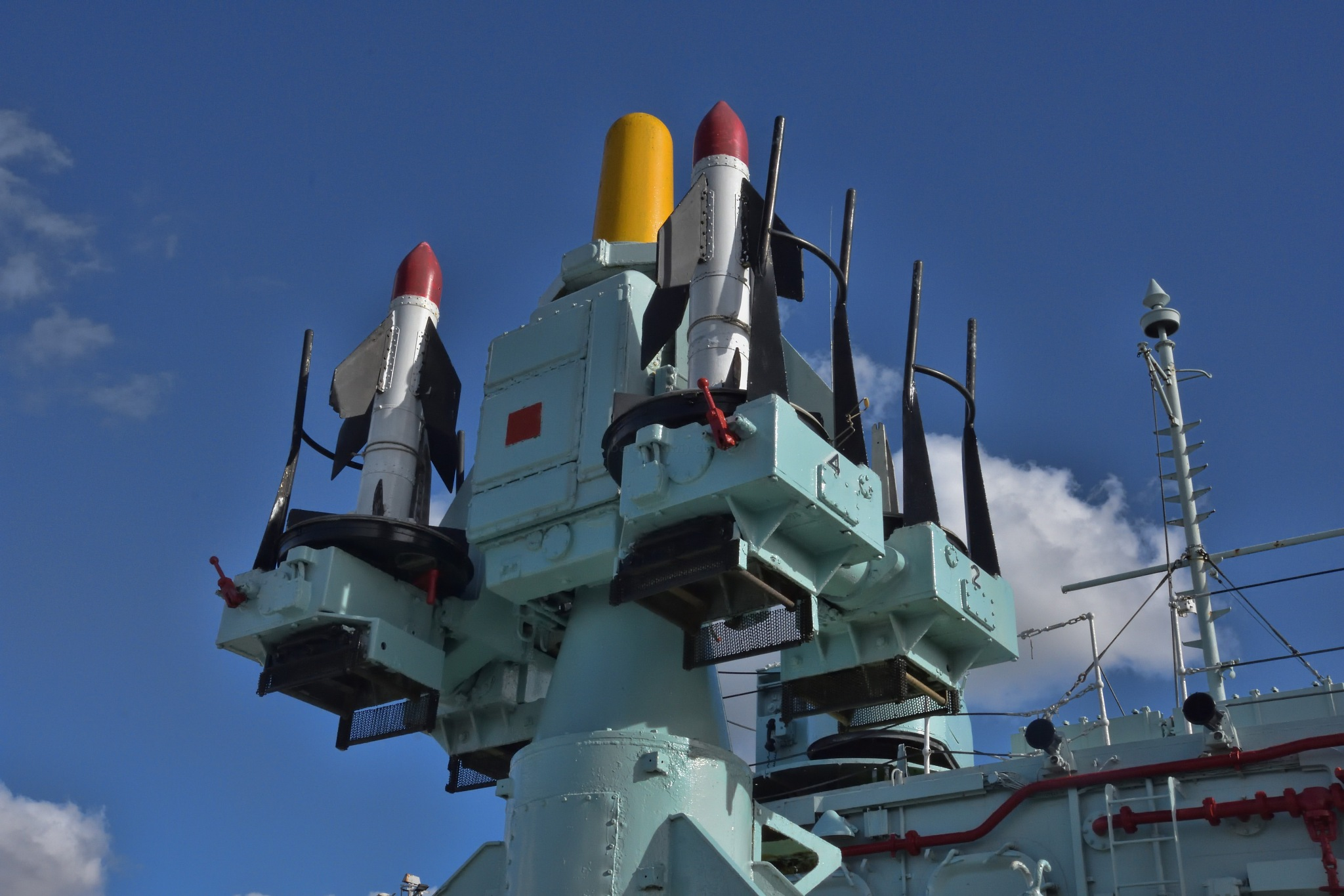 HMS Cavalier by Derek Clarke