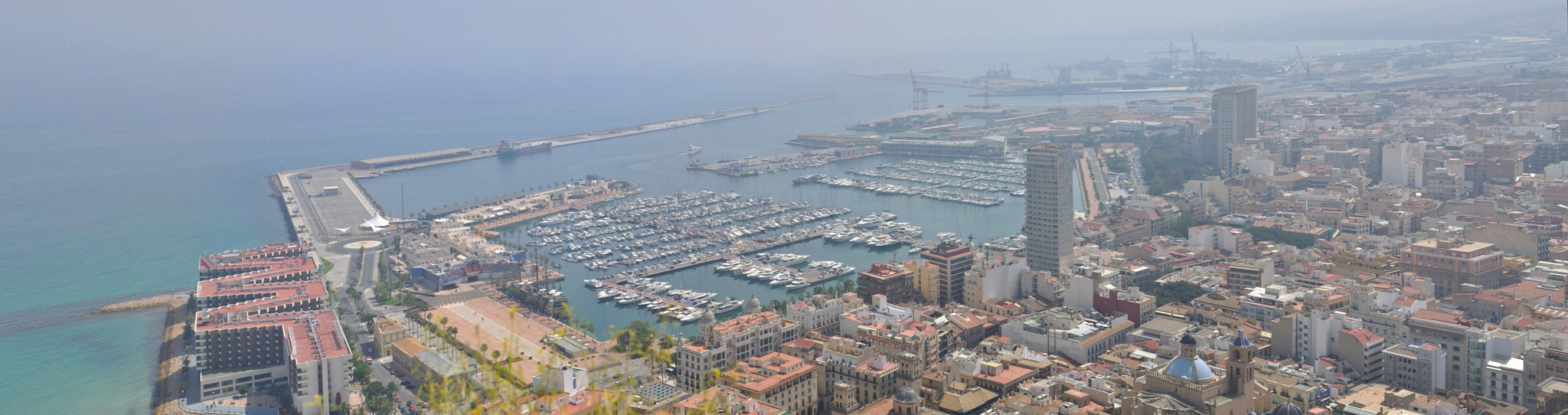 Panorama (13) - Alicante (7) by Derek Clarke