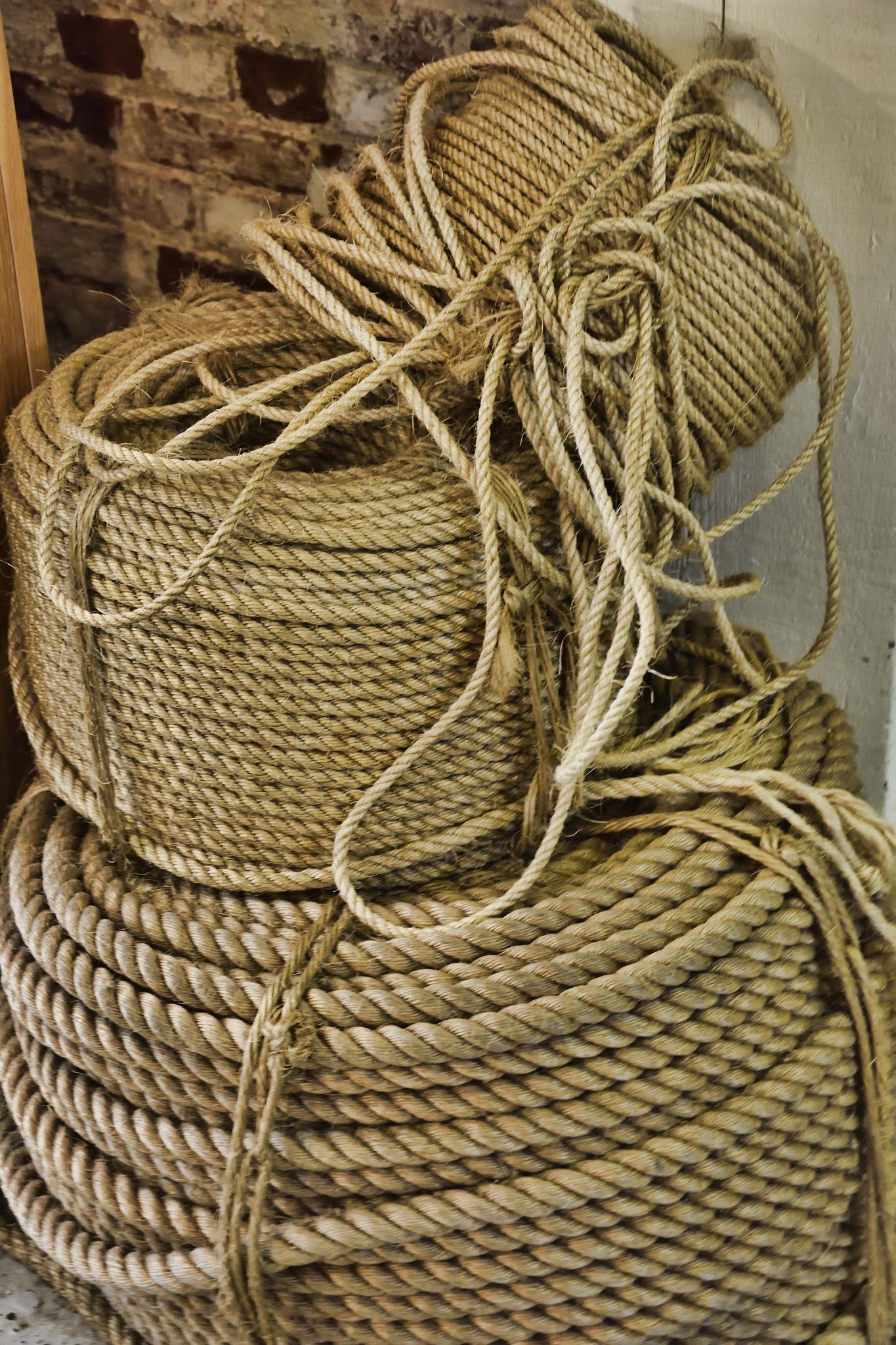 Rope Factory by Derek Clarke