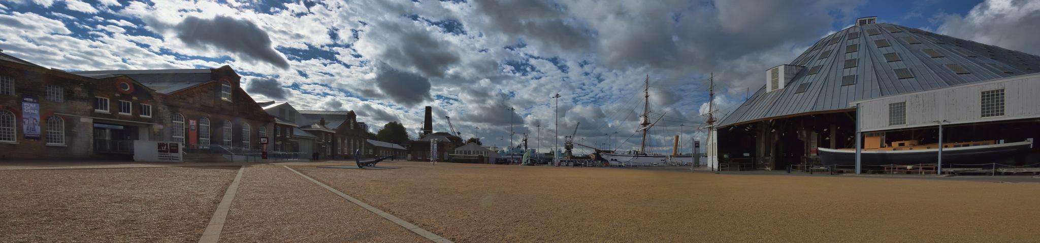 The Historic Dockyard, Chatham by Derek Clarke