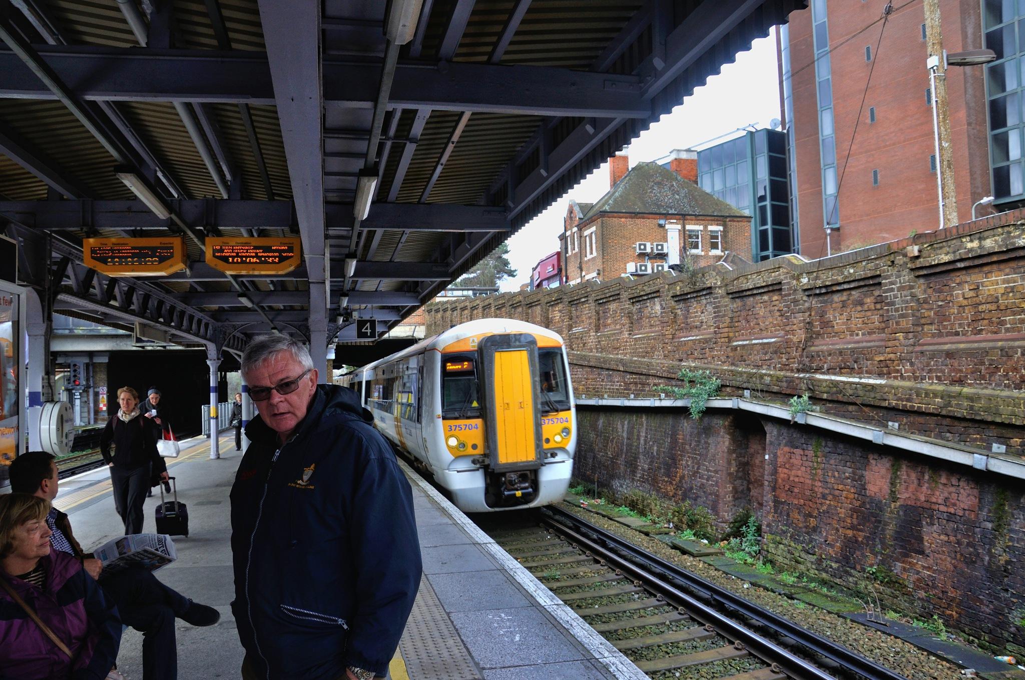 Trains (11) by Derek Clarke