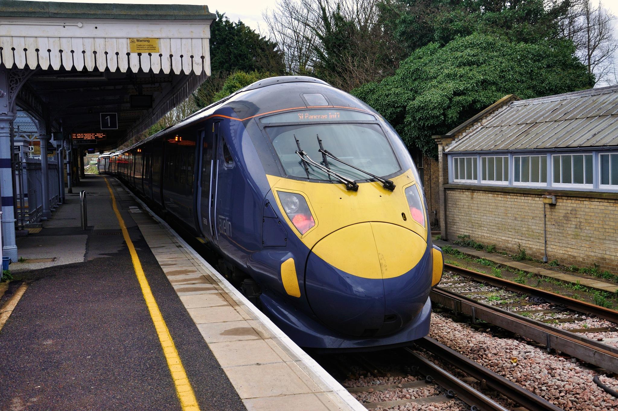 Trains (12) by Derek Clarke