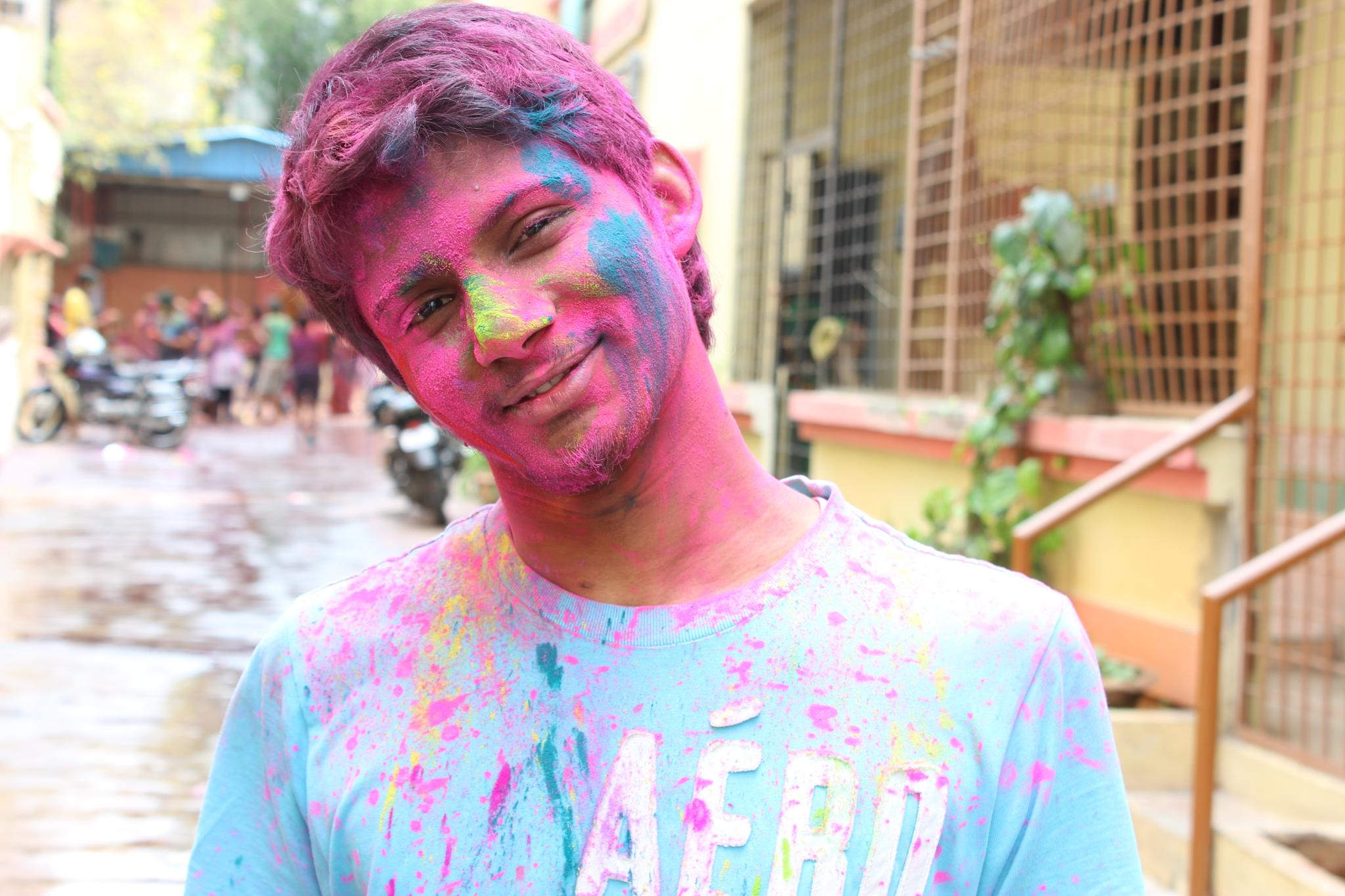 Holi the colours of india. by MaveriK