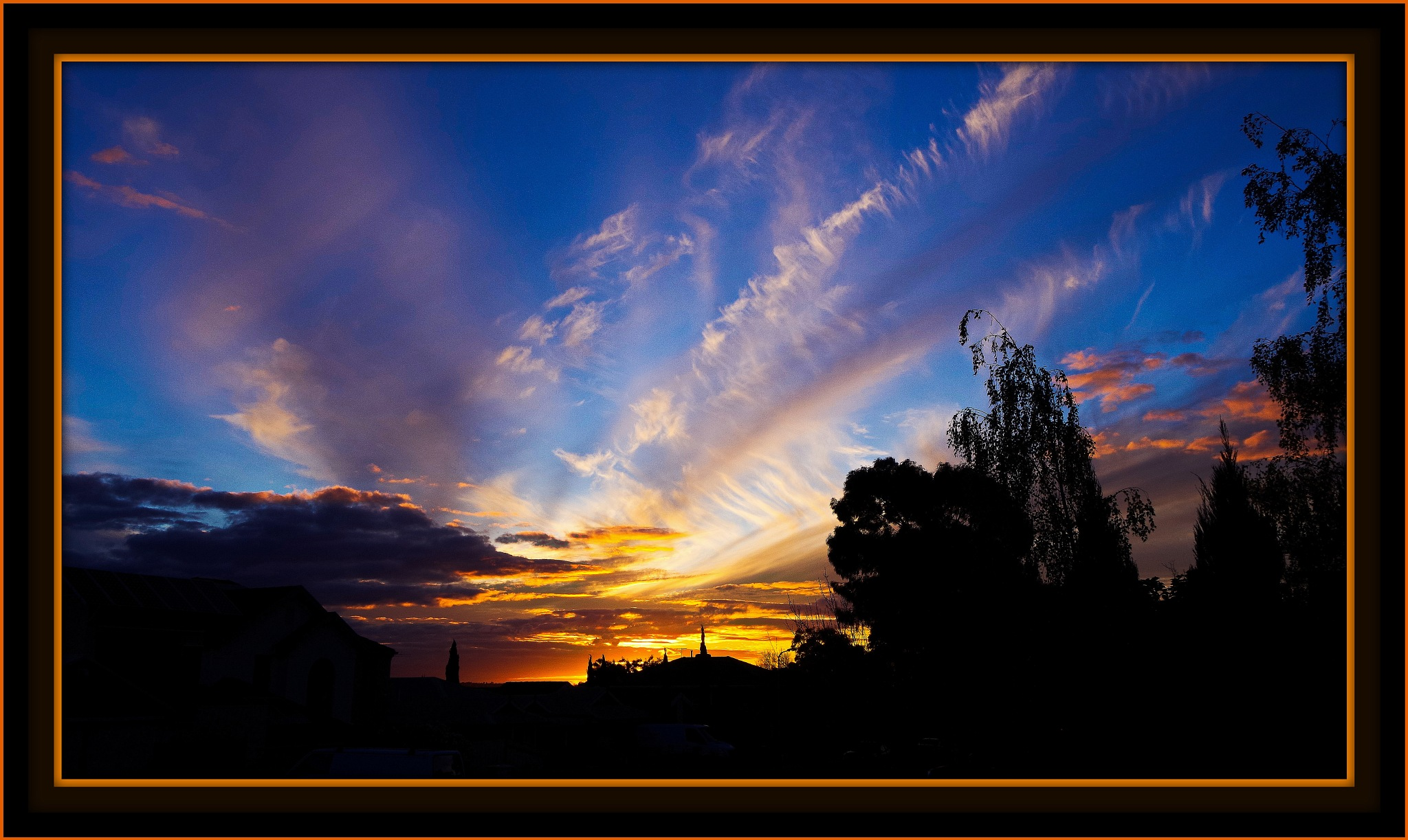 suburban sunset by ragnes840