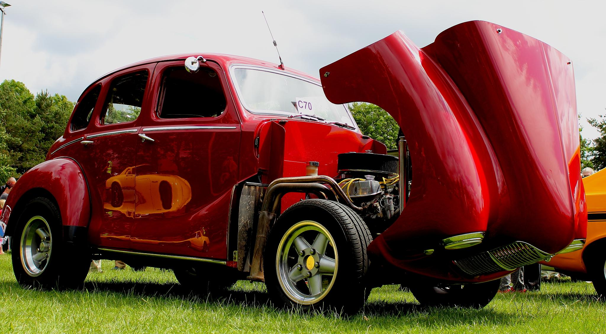 Old School Hot Rod  by Tim Bell