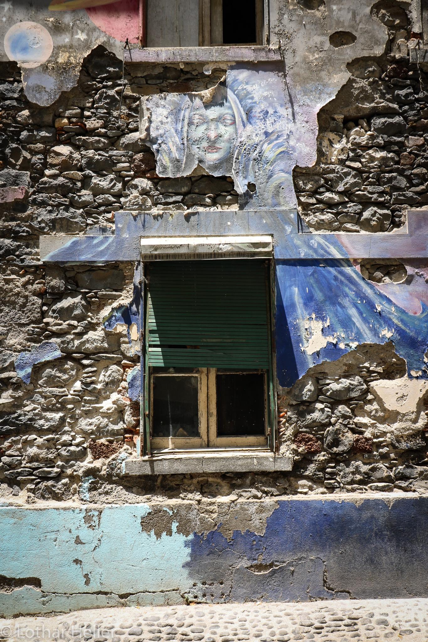 Funchal Window by Lothar Heller
