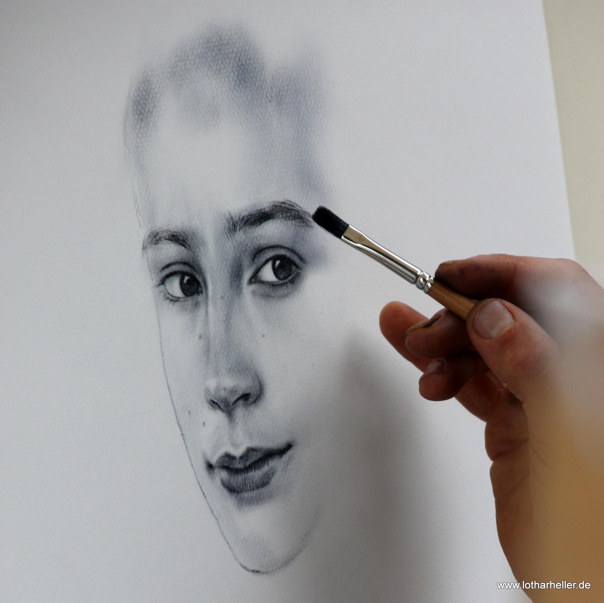 Painter by Lothar Heller