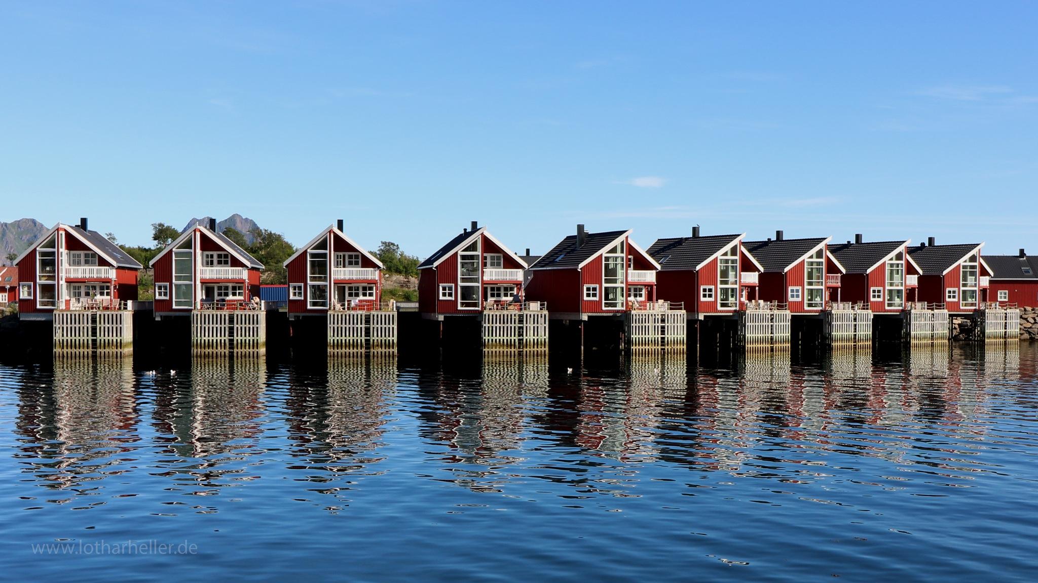 Lofoten Houses by Lothar Heller