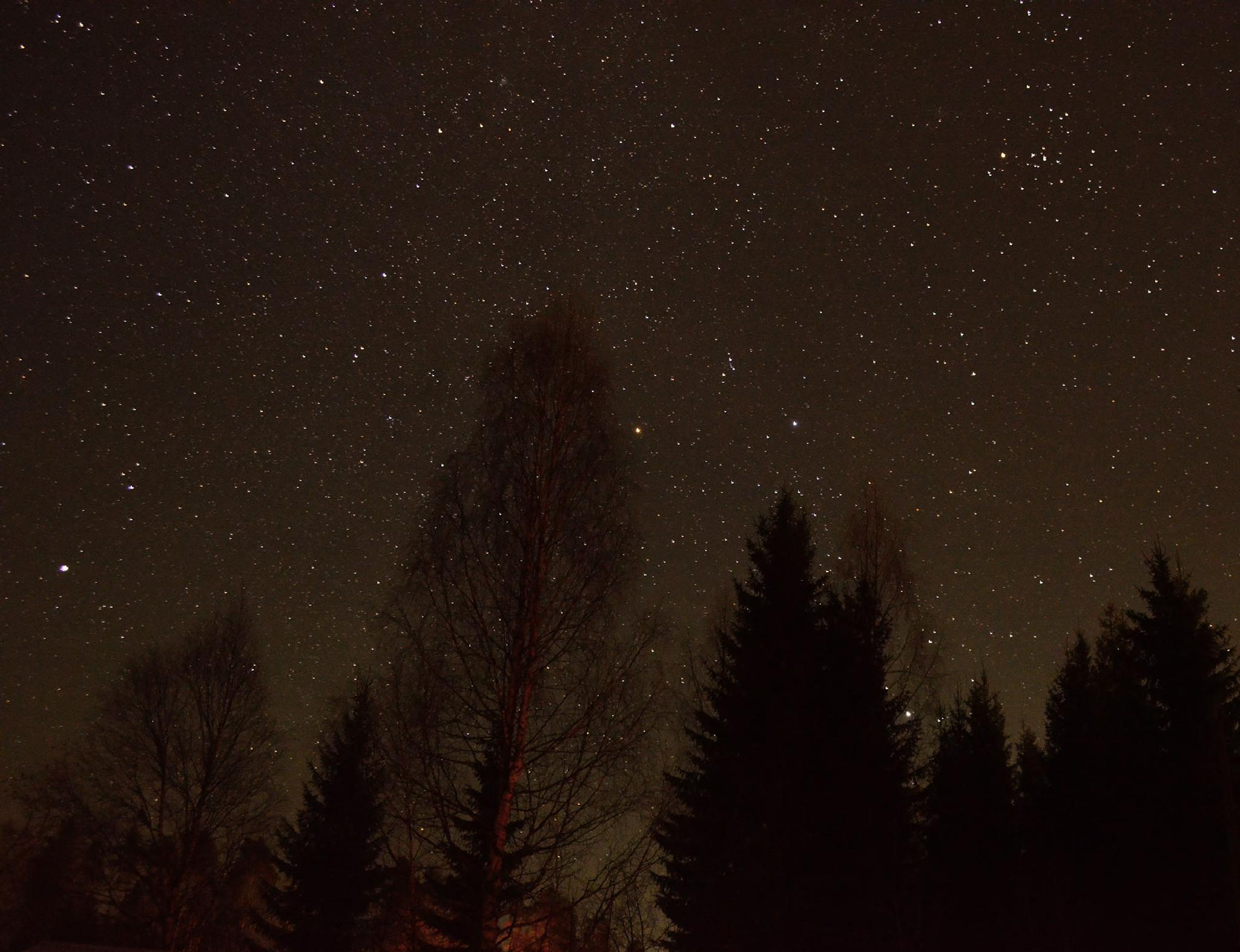 Winter sky by assardan