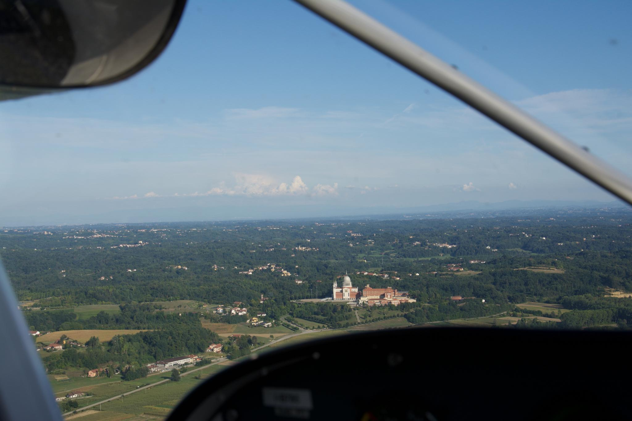 Shooting from the airplane, Becchi! by Ronald.Karels