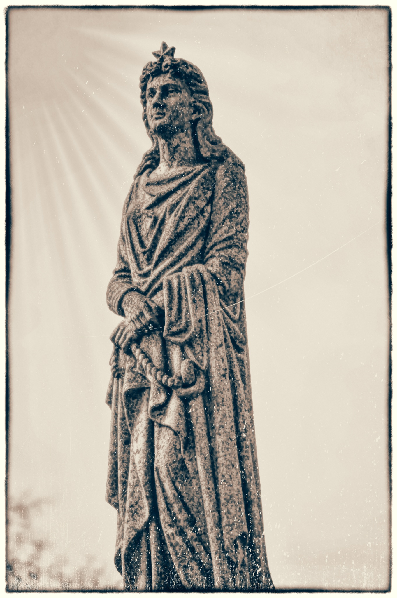 Photo in Random #statue #art #cemetery statue