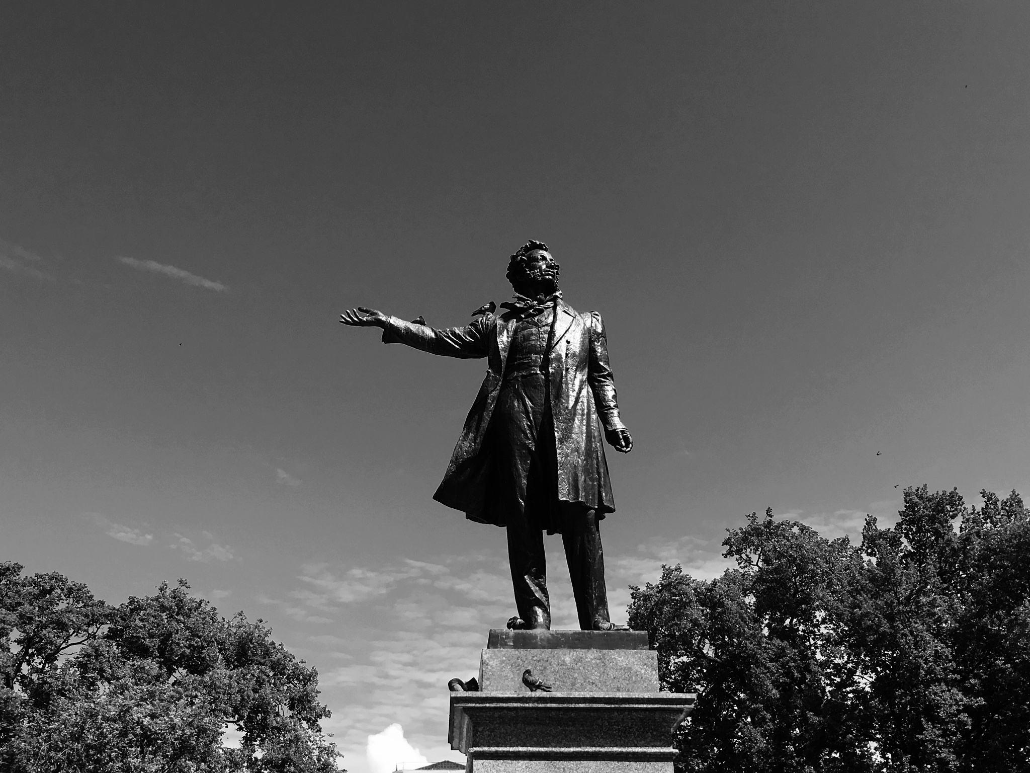 Alexander Pushkin by coiatellimarco