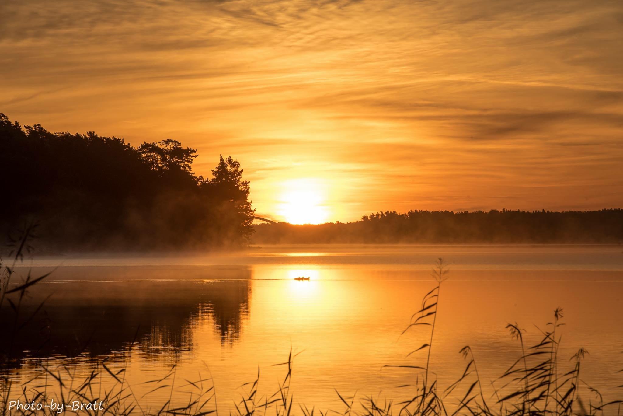 Sunrise at Värmdö, Sweden by gunnel.bratt