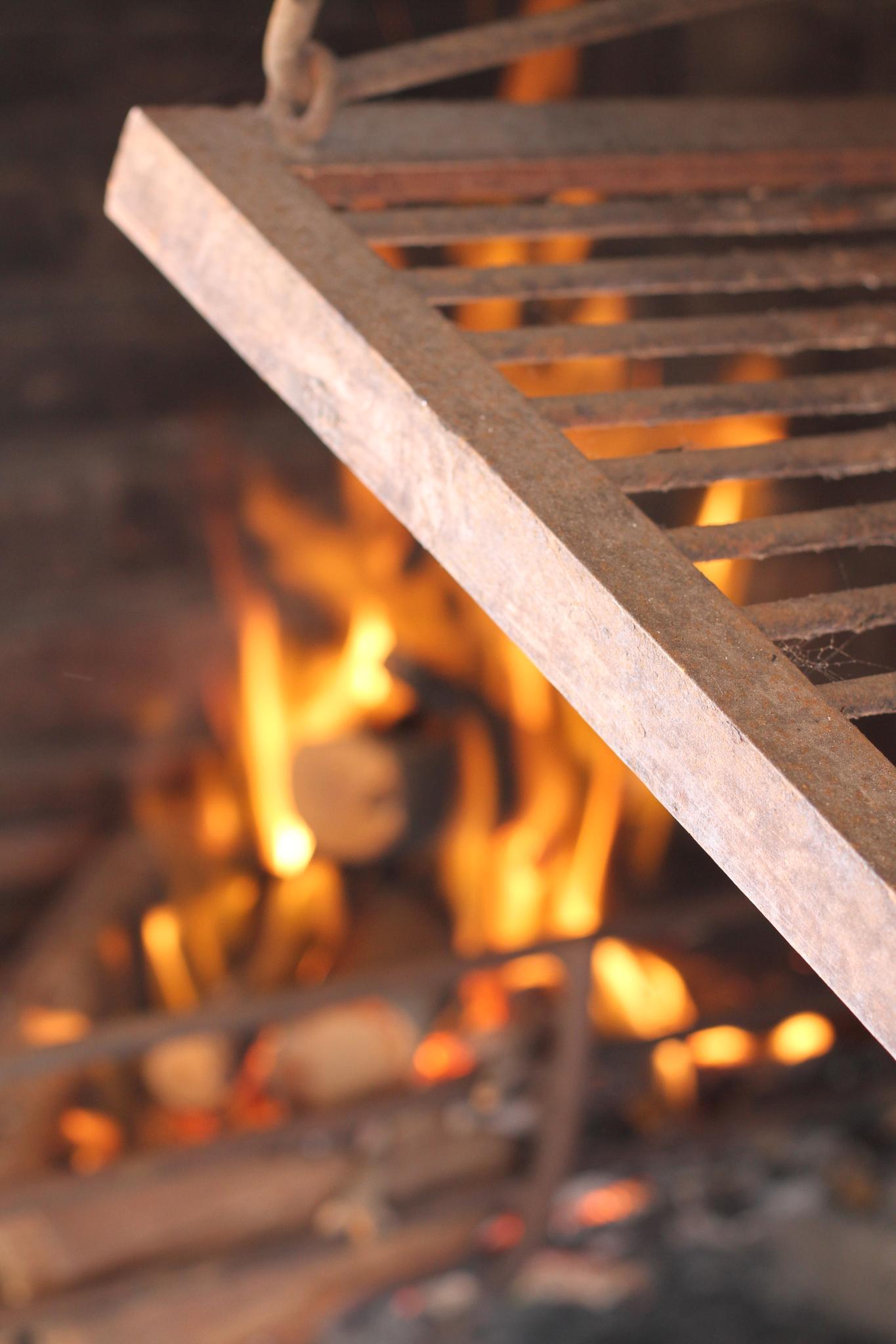 Preparing the BBQ by Miguel Odolfo Gabard Viera