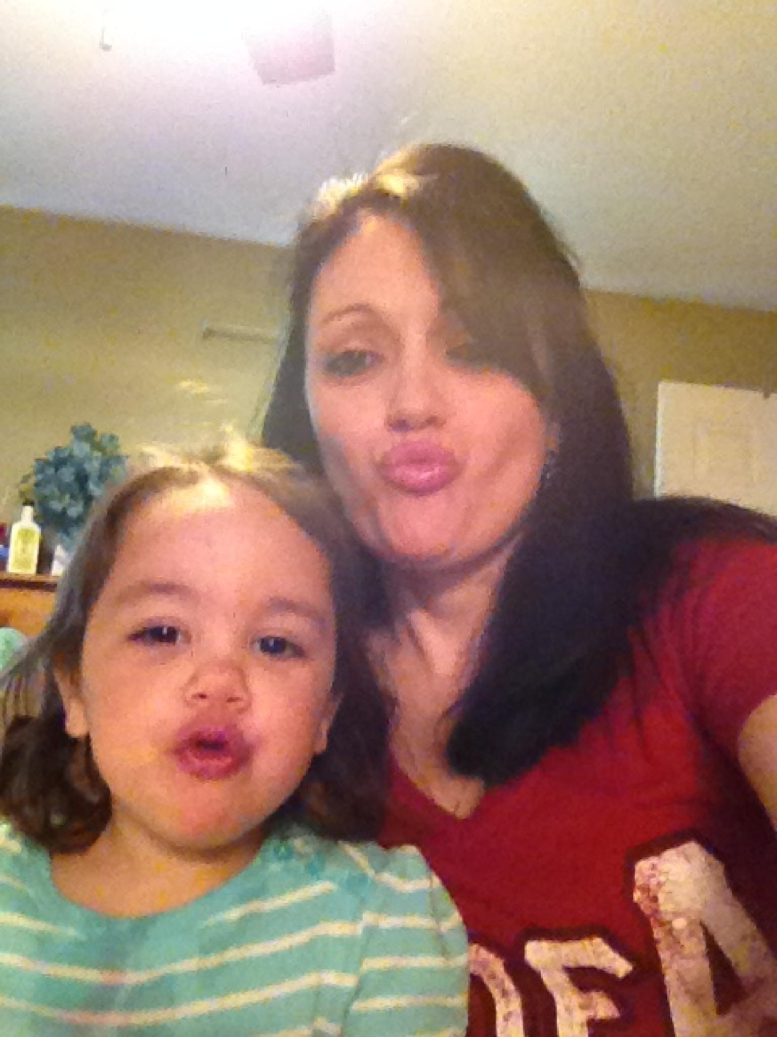 Selfie with my granddaughter by lisarobertsbell