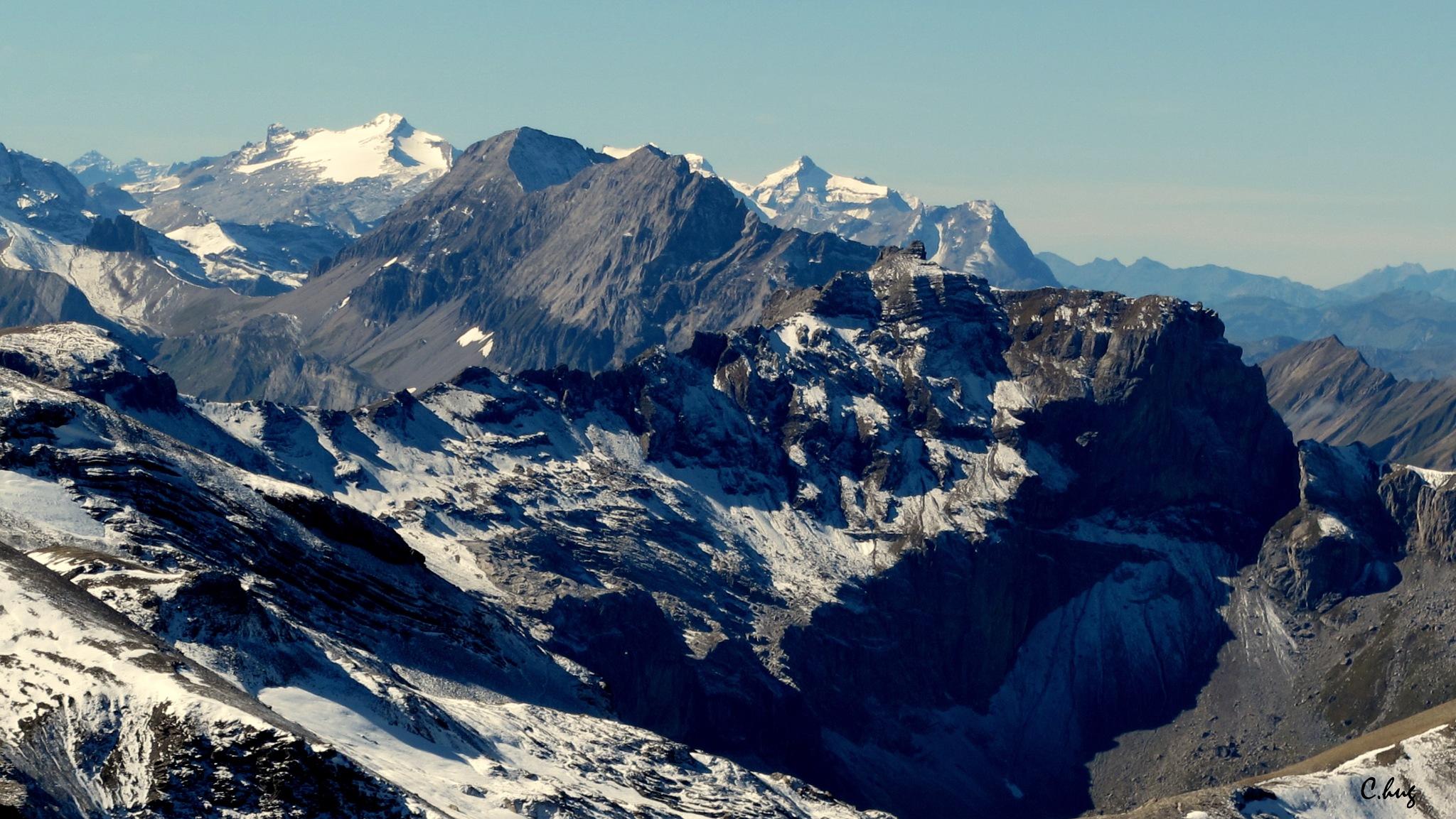 La haute montagne by Huguenin Claude