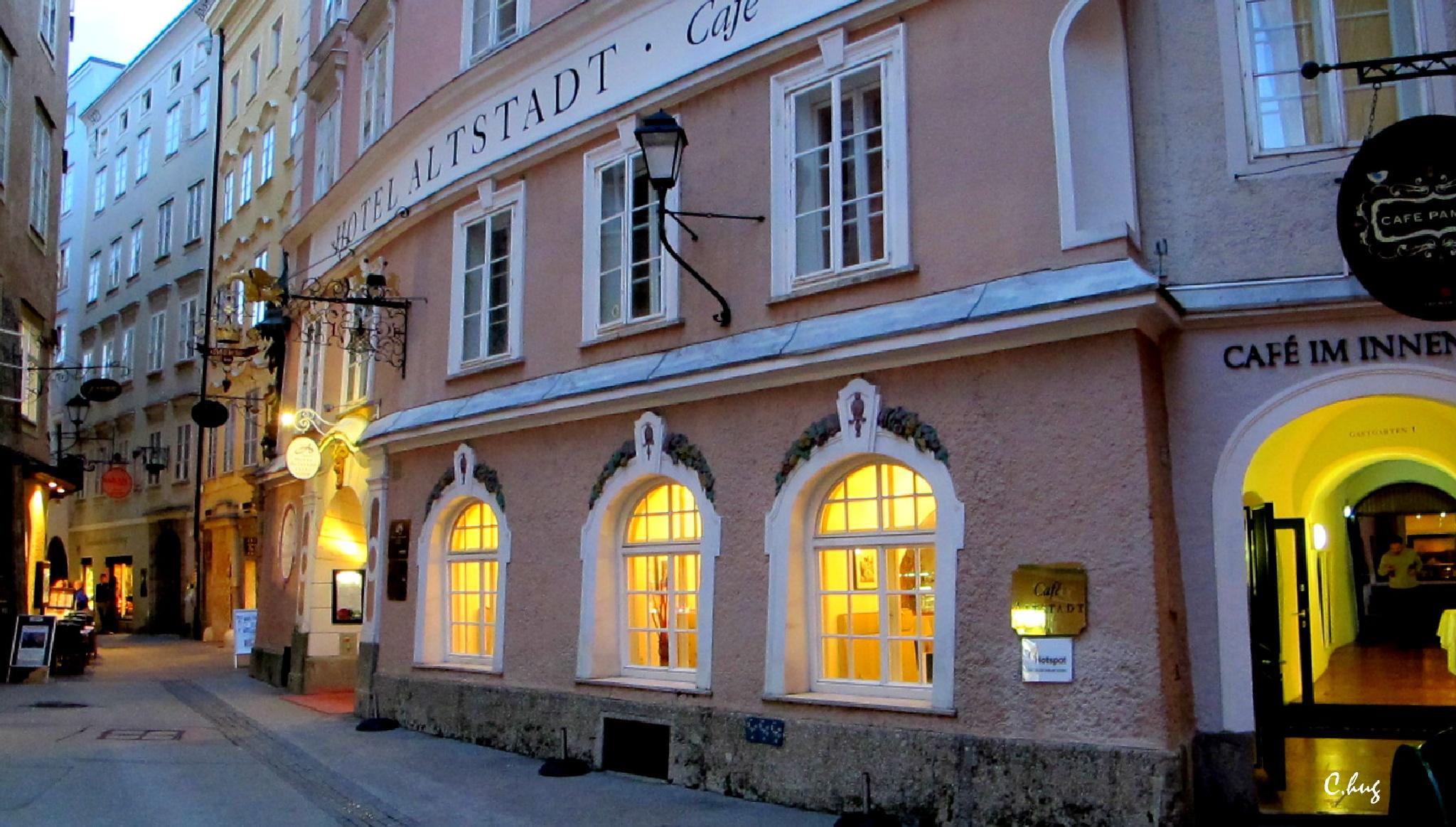 Altstadt Café by Huguenin Claude