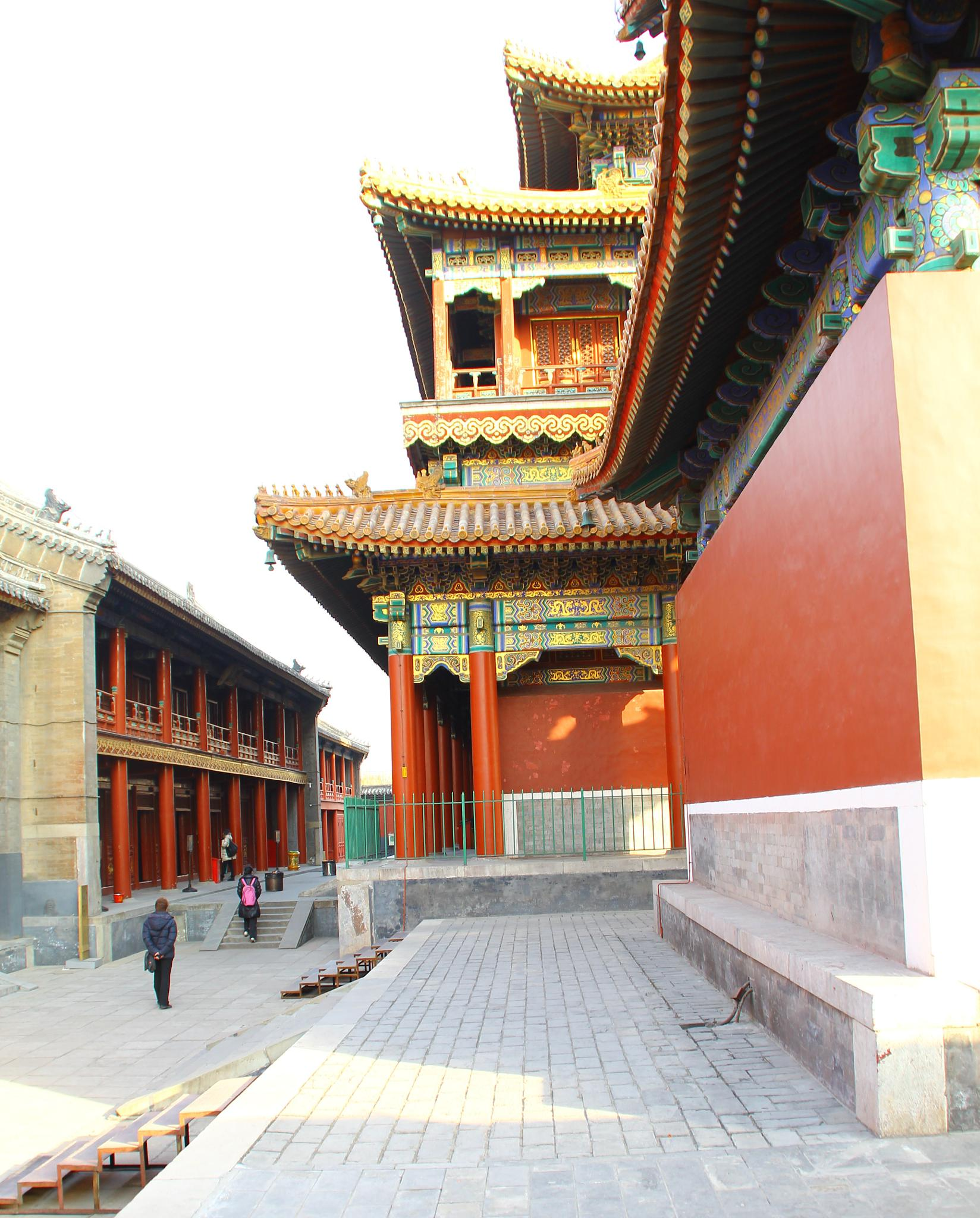 Lama temple in Beijing by Ulf.G.Fagerstrom