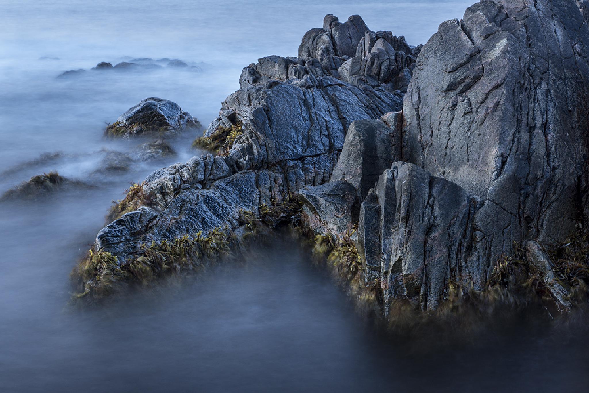 Rocks in blue by Peter Samuelsson