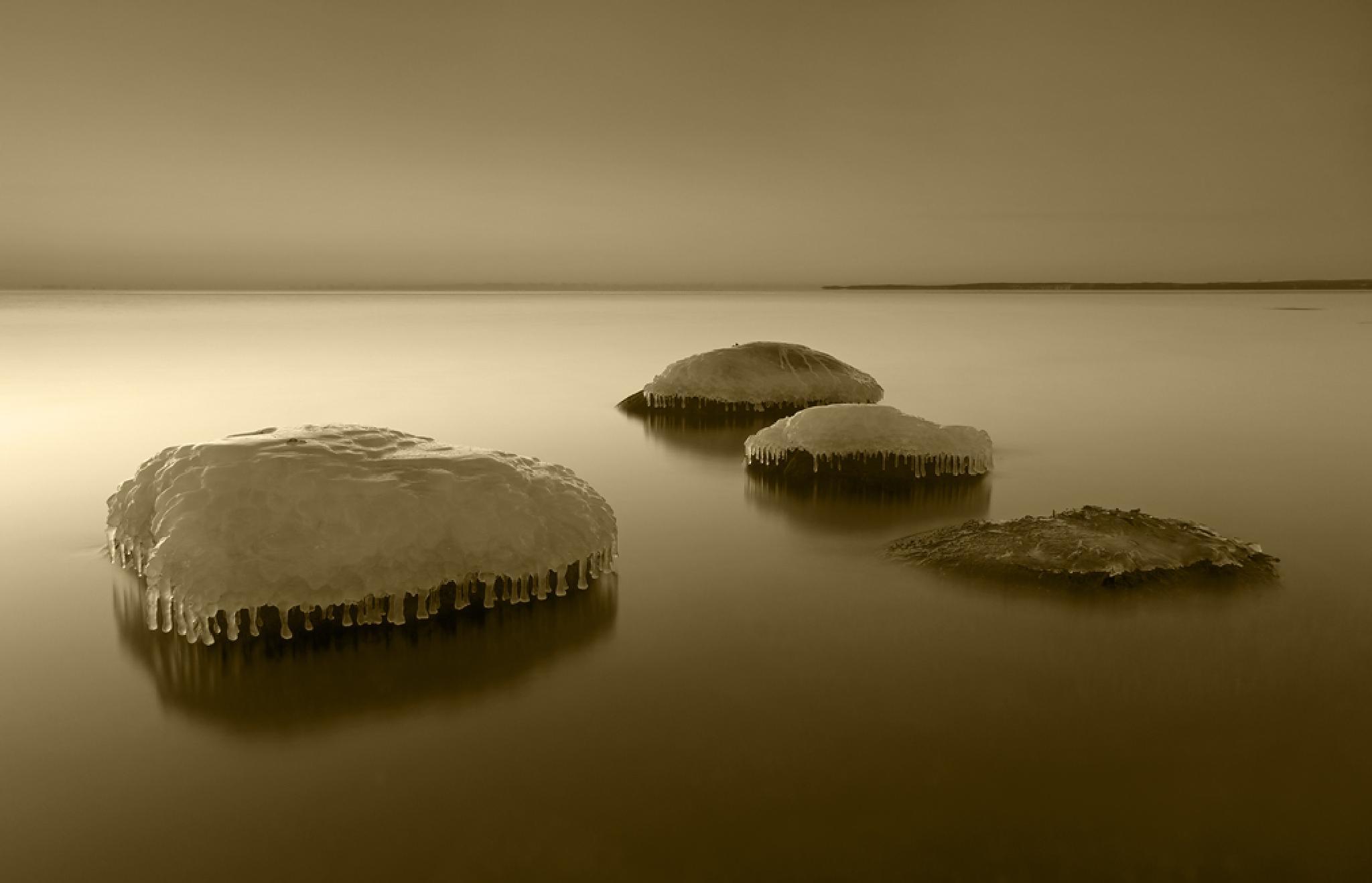Four stones  by Peter Samuelsson