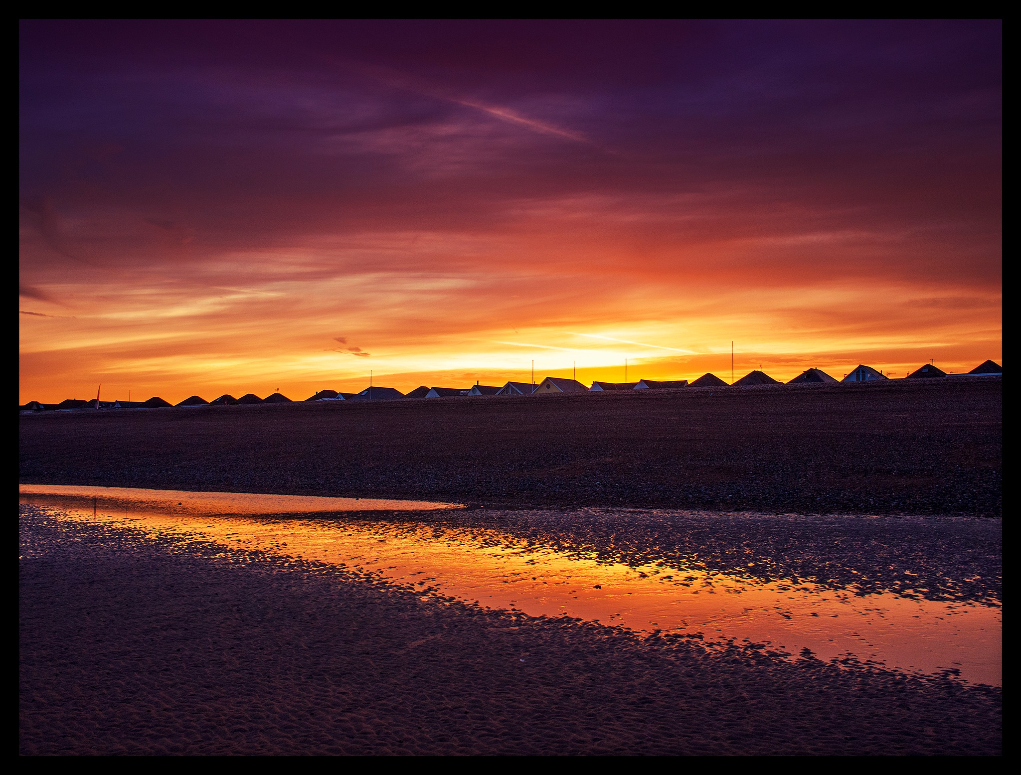 Pevensey Sunset by andywest630