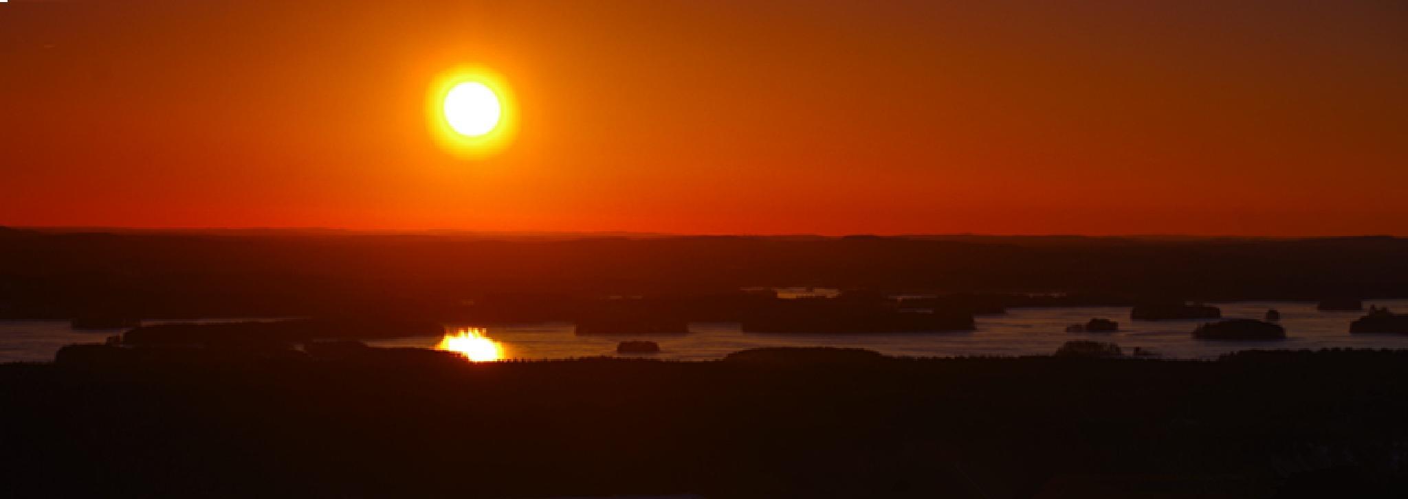 Sunset by Oscar H. L.