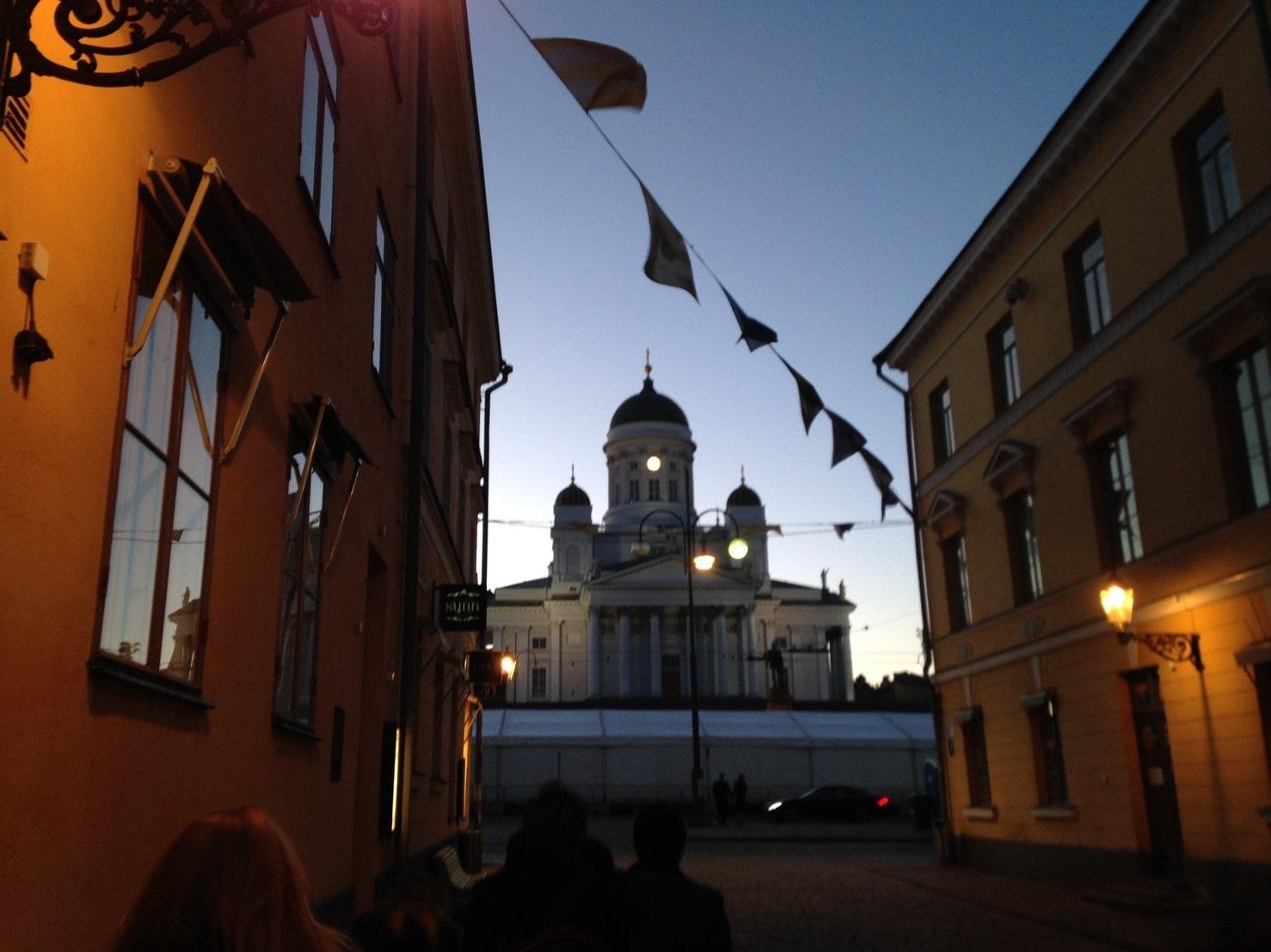 Helsinki Cathedral by Oscar H. L.