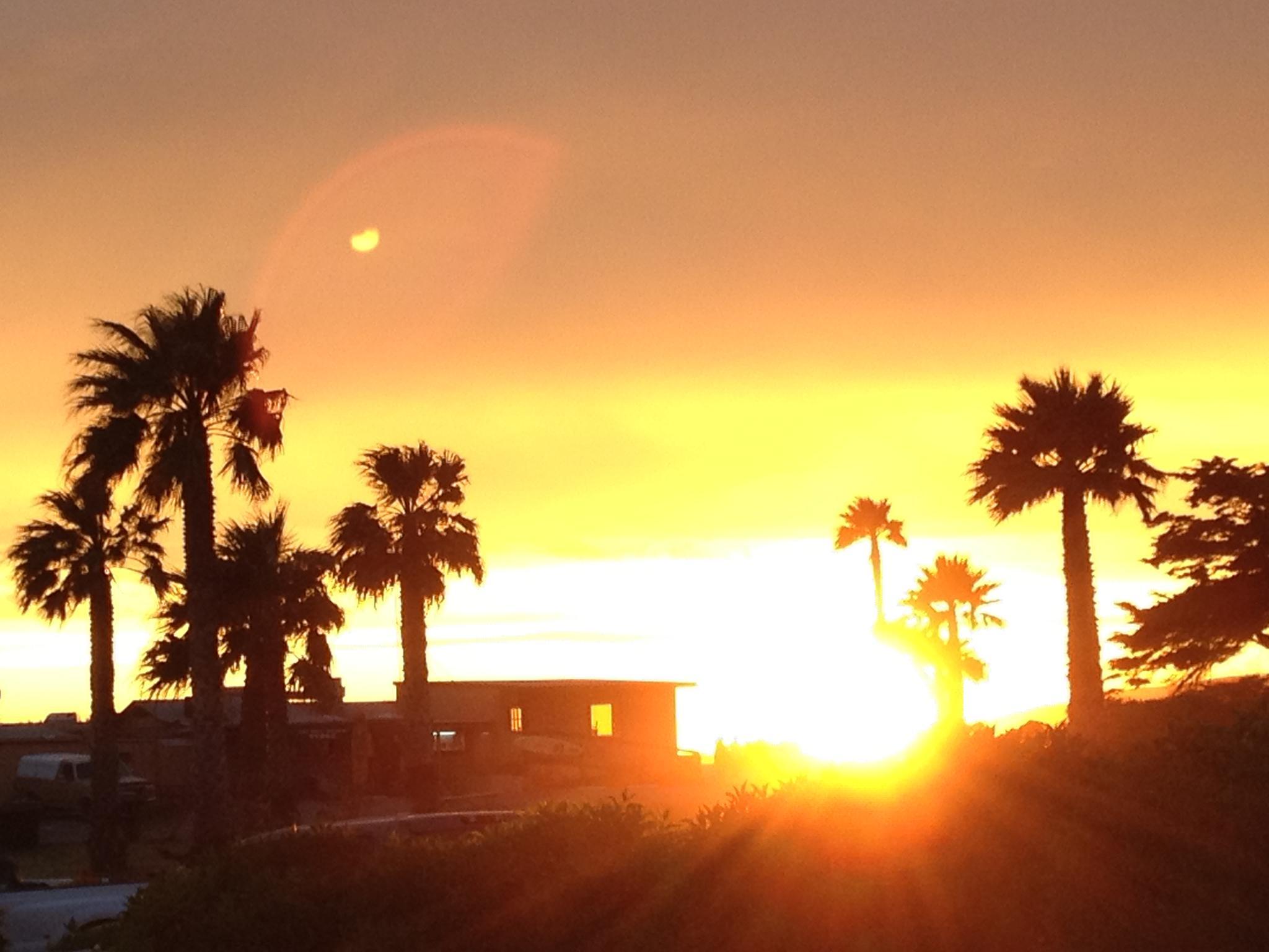 Jalama sunset by Kim Hunt