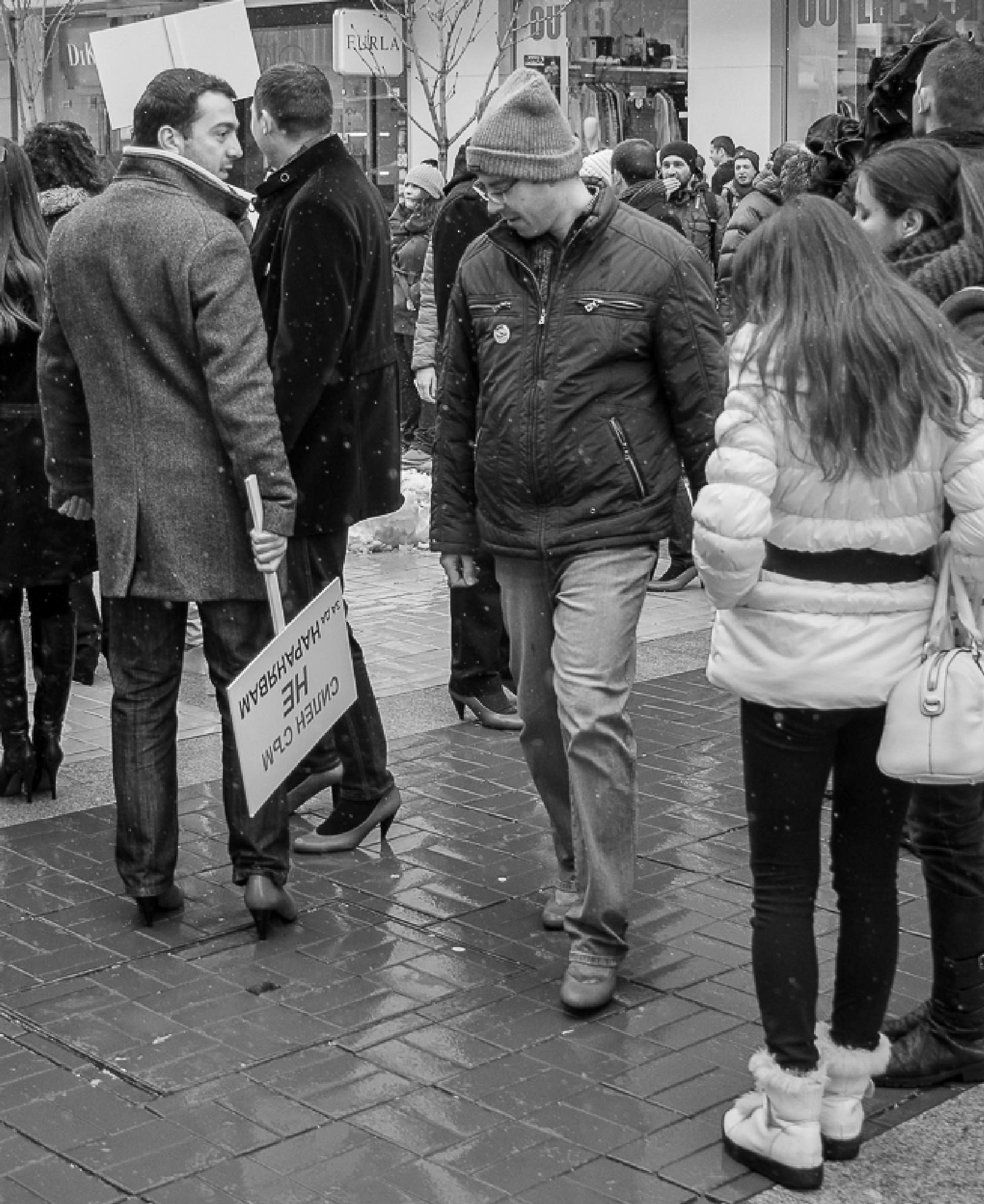 8-th of March, Sofia, Bulgaria by Mihail Dimitrov