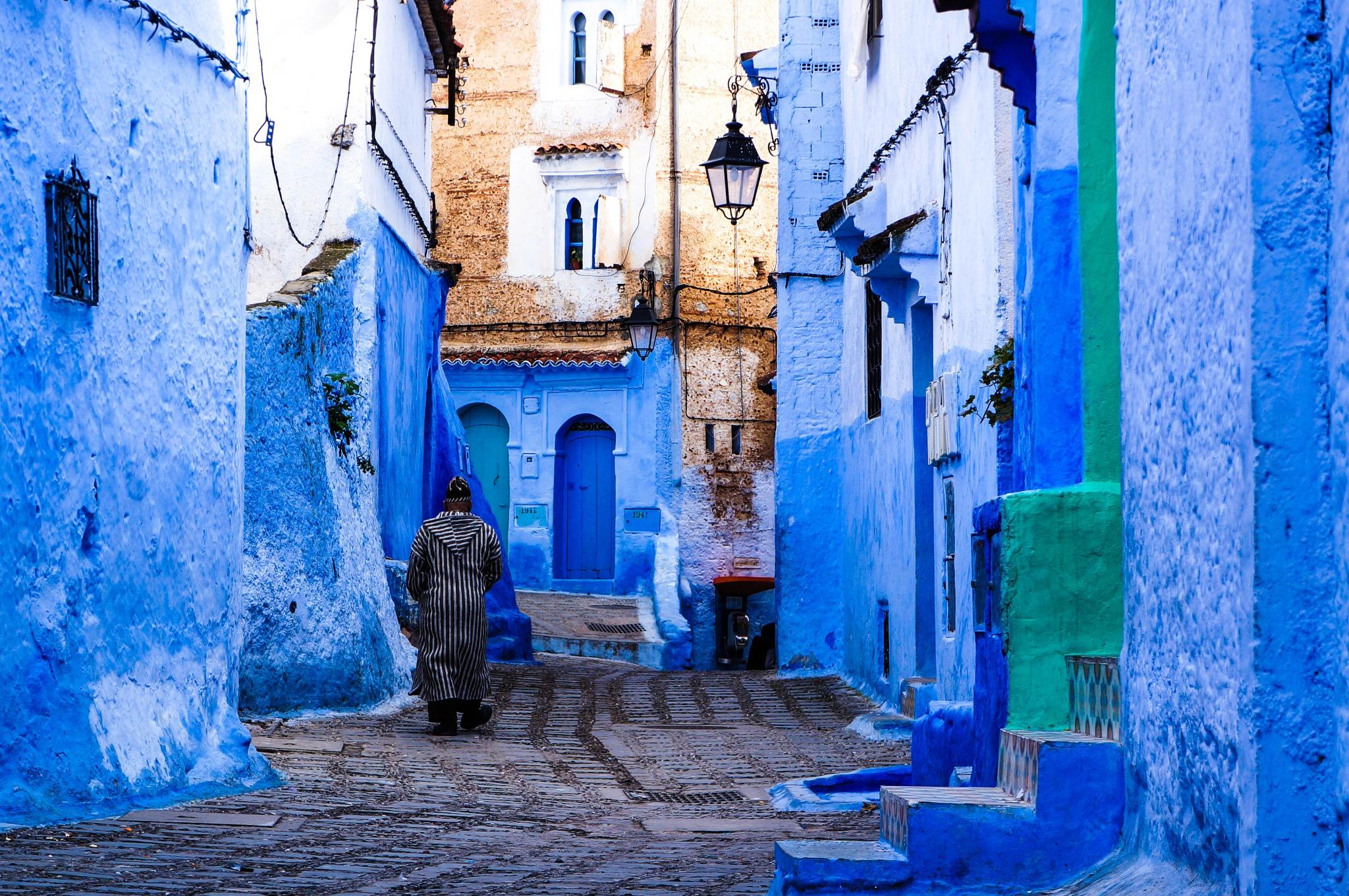 a colorful city by haddouchitarik