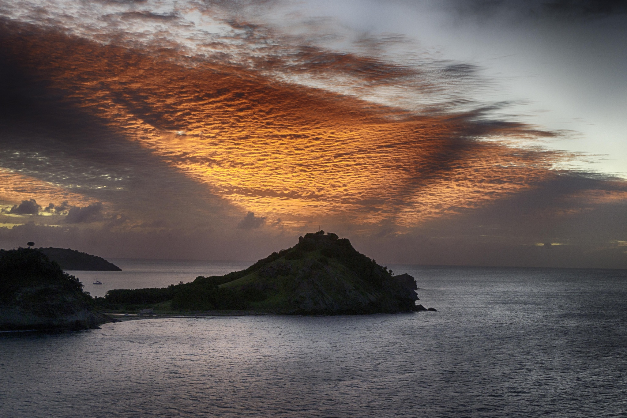 Antigua Sunset by Brian Scott