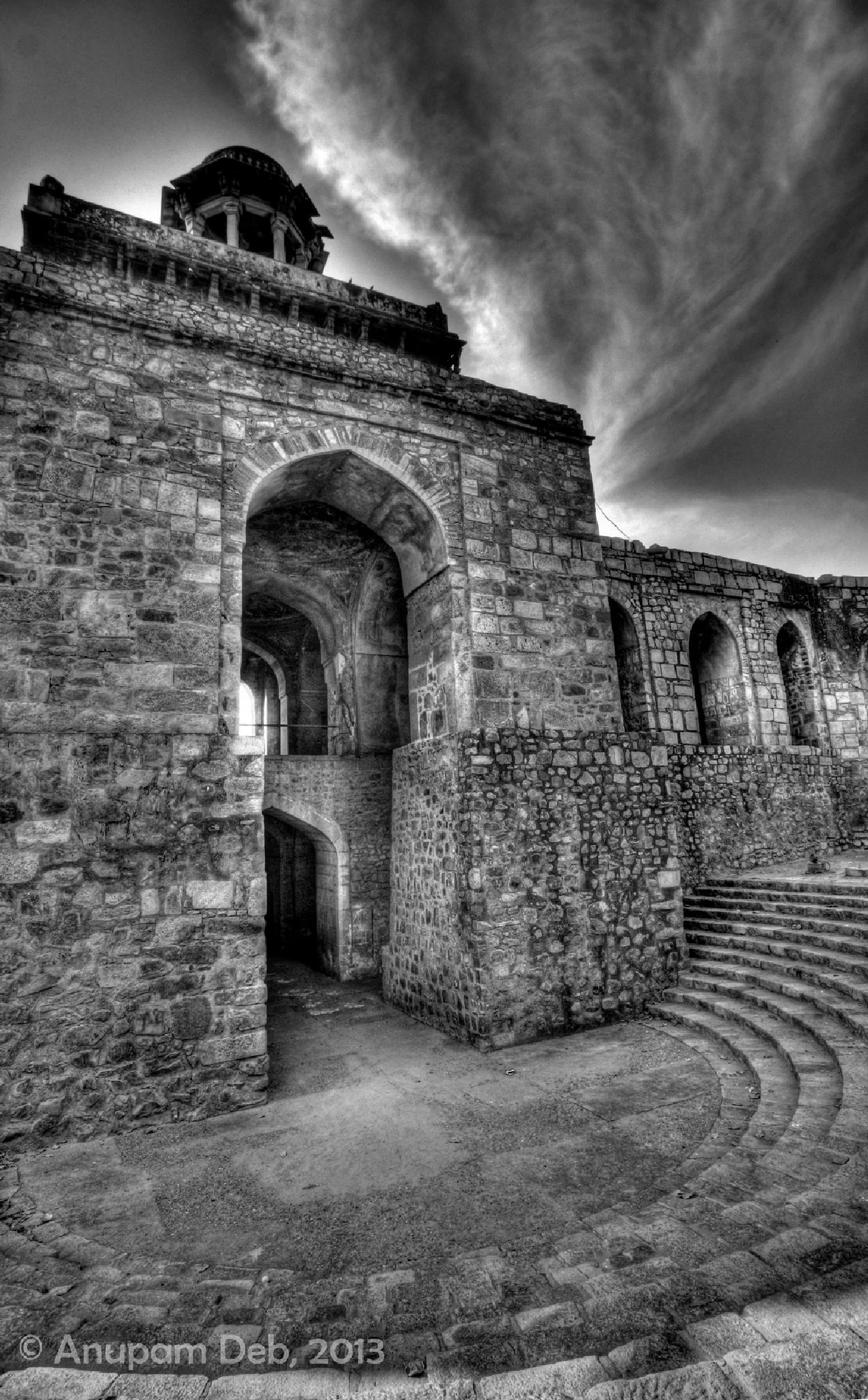 Old Fort by Anupam Deb
