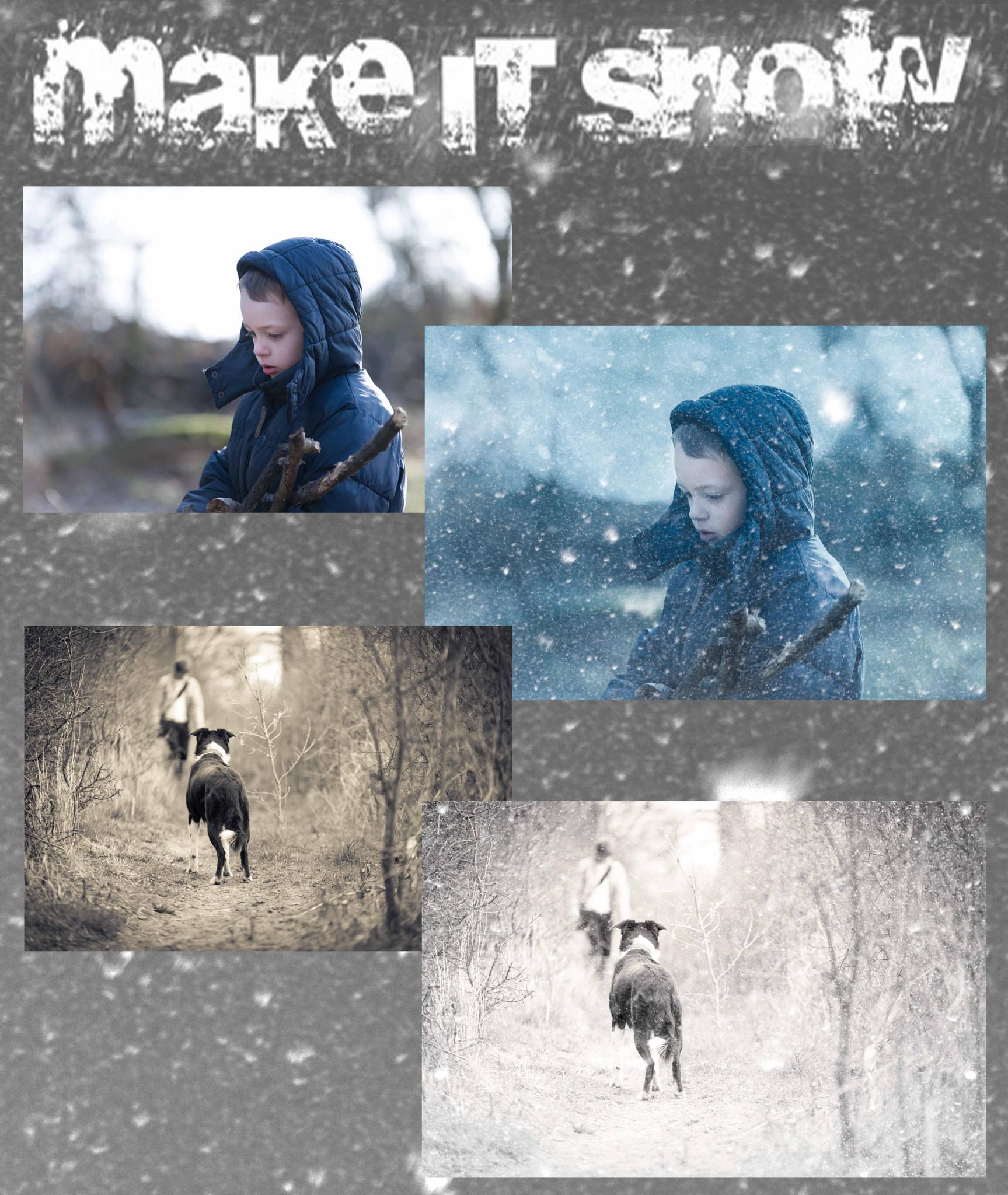 """Make it Snow"" with SLR by Jon Dawrant"