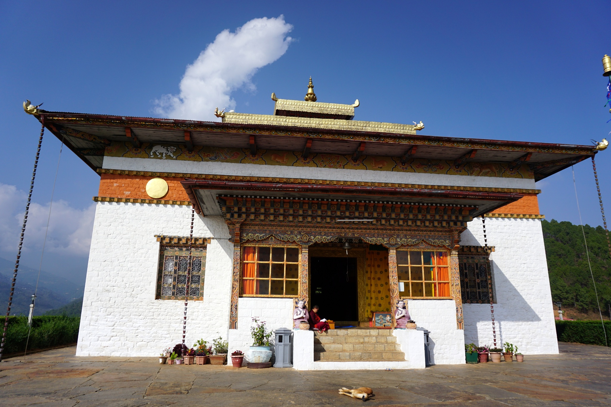 Sangchhen Dorji Lhuendrup Lhakhang (Nunnery) by prasadkotian