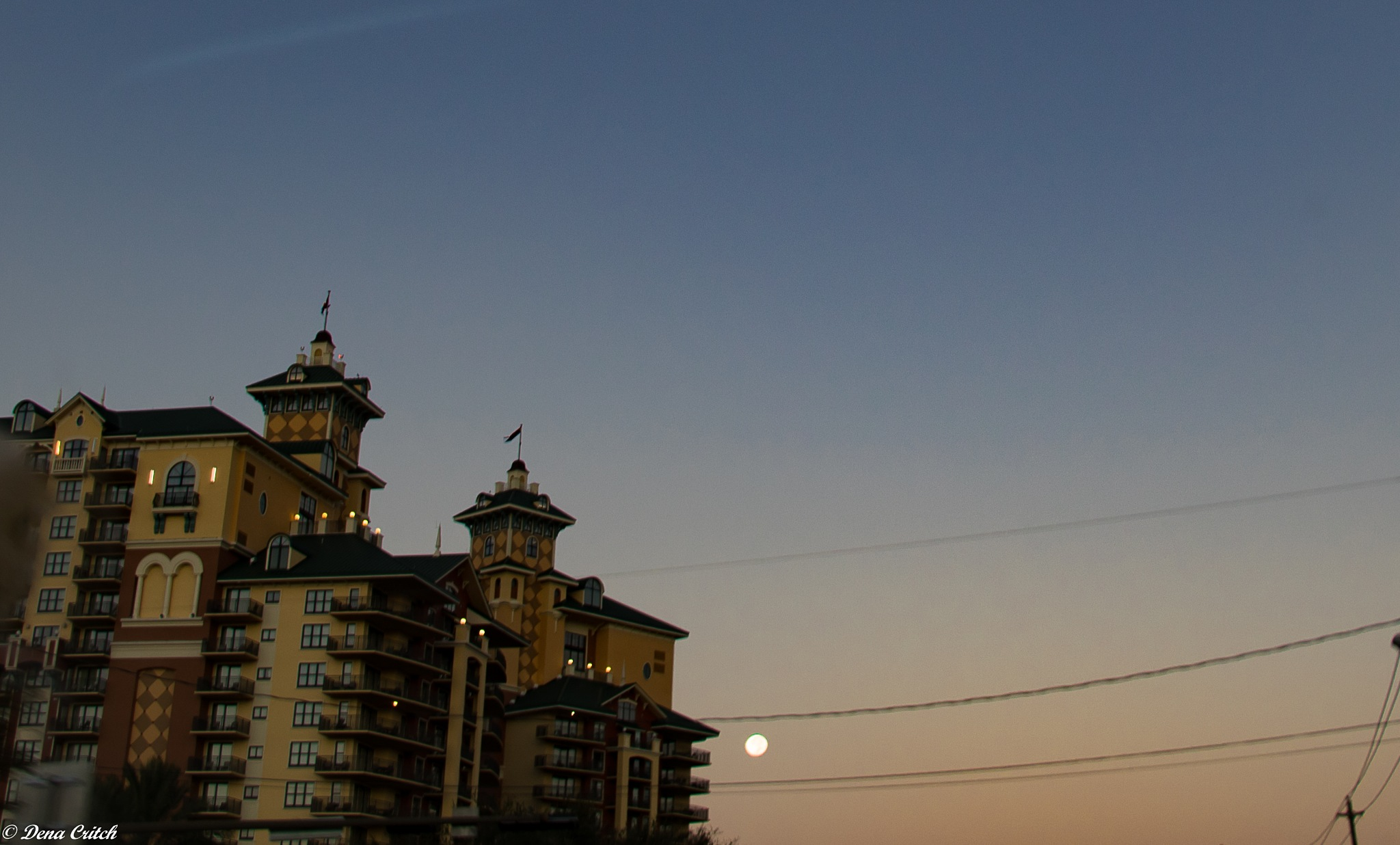 Full Moon at Dawn by dena.critch