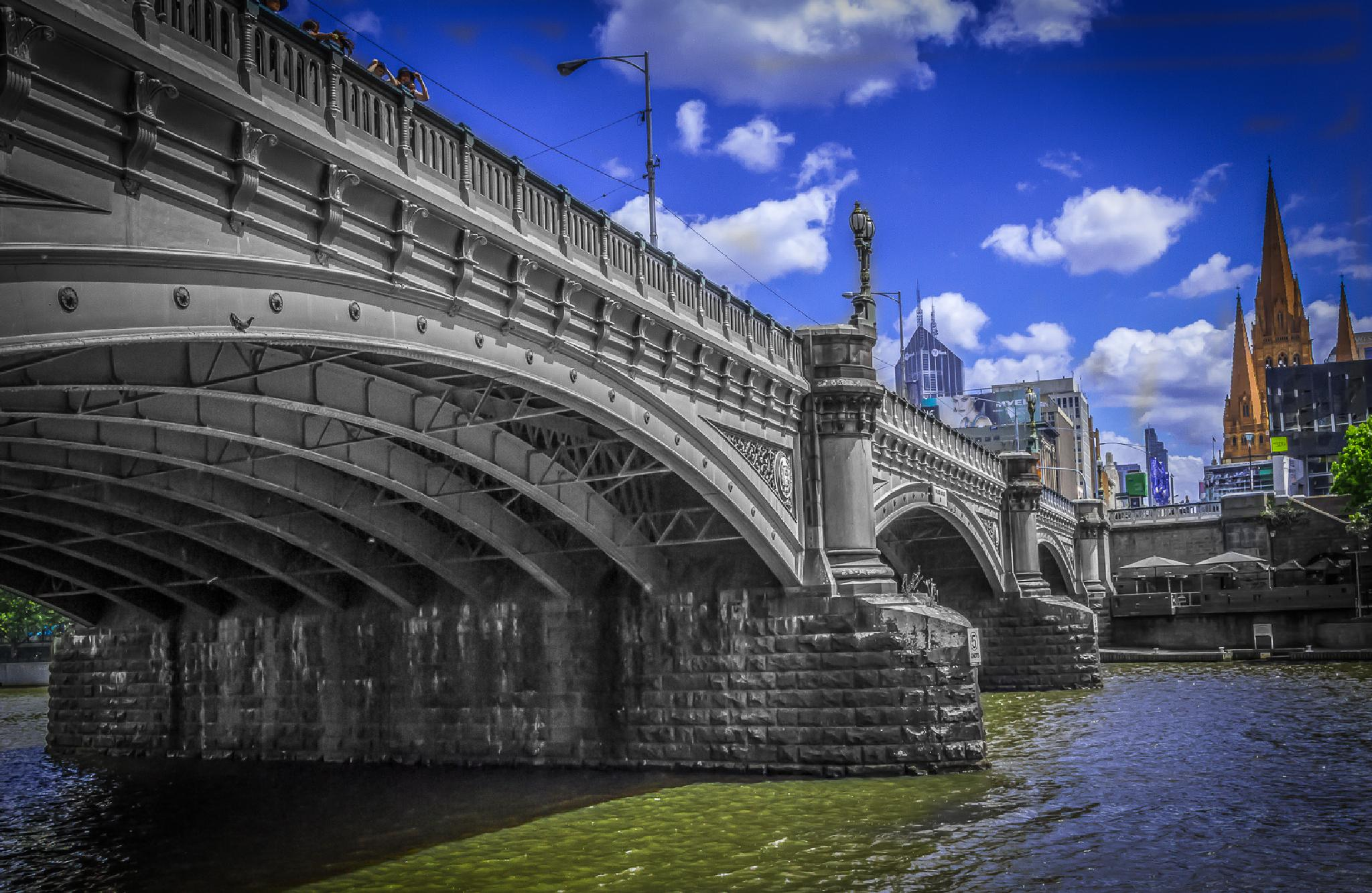 Melbourne Princes Bridge by Jaromir Tretina