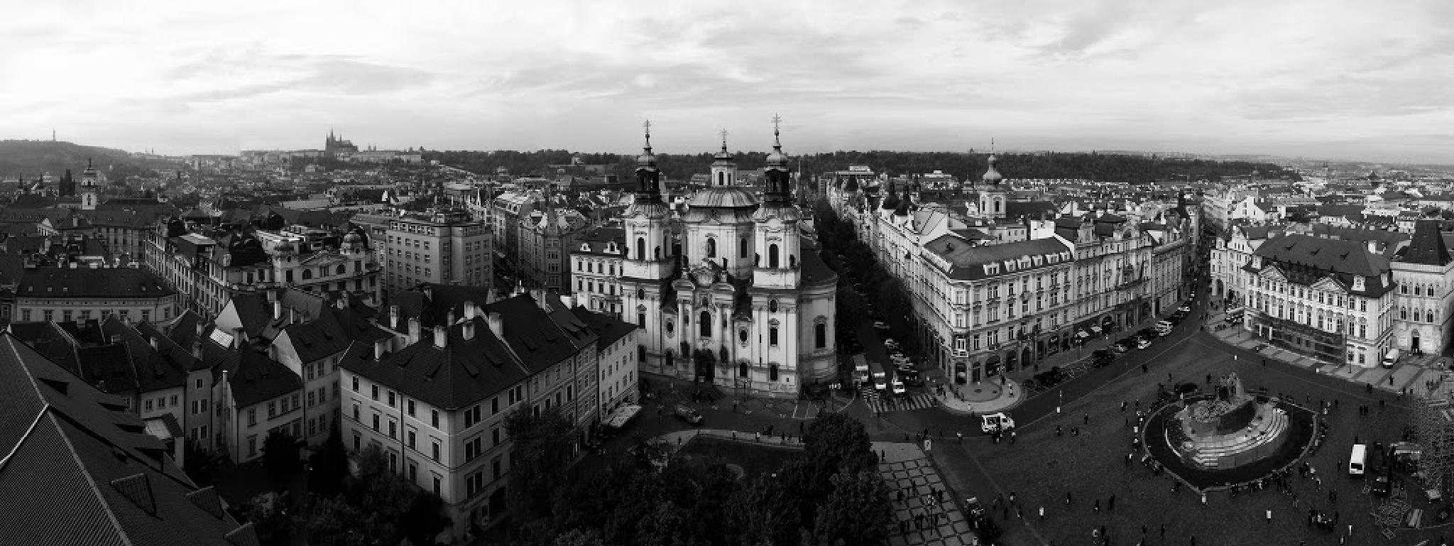 Prague Rooftops by lukejohnfrost