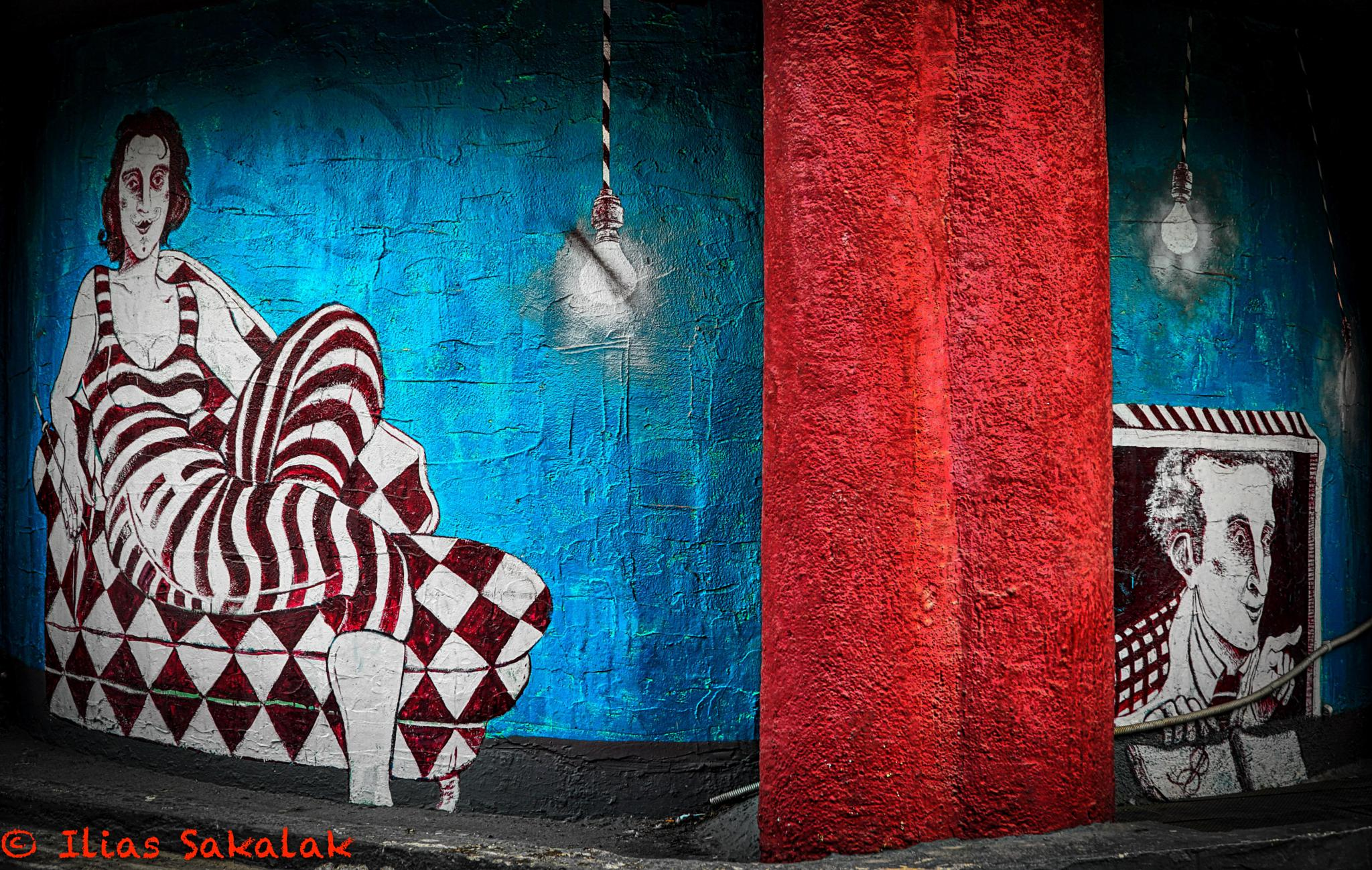 Street Art by Ilias Sakalak