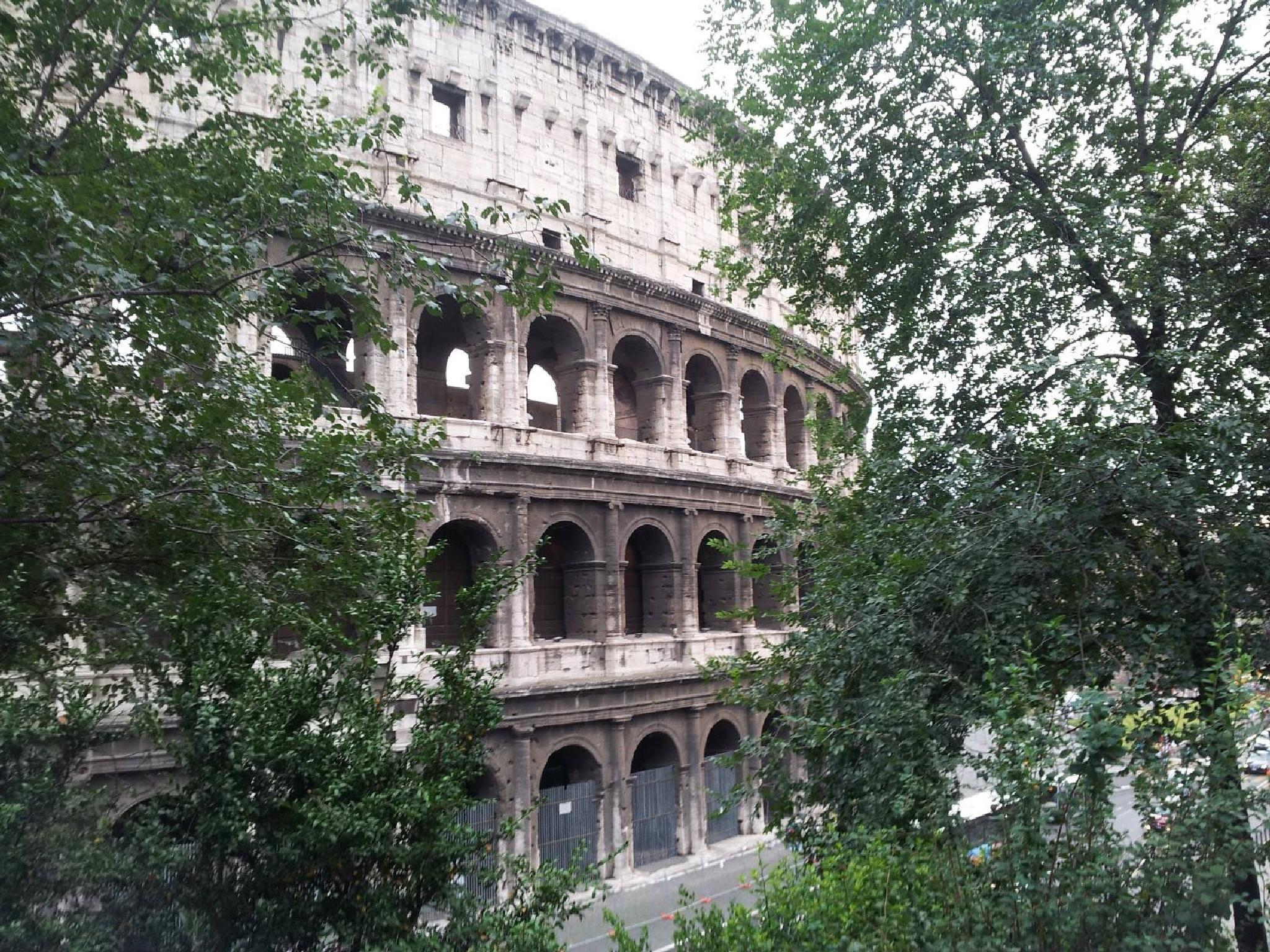 My view of Coloseum,Rome by johnny.kariono