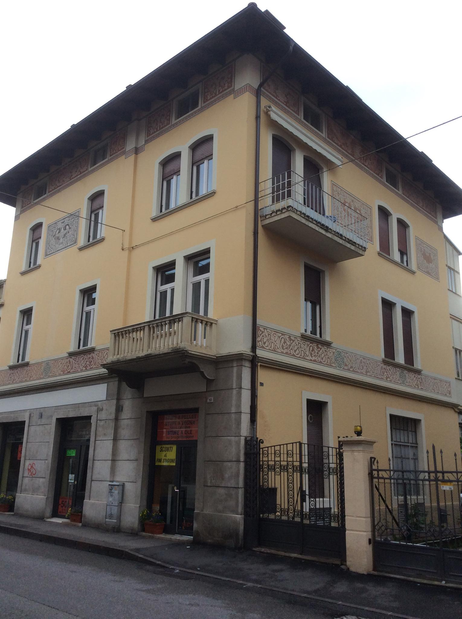 The building in Rovereto by johnny.kariono