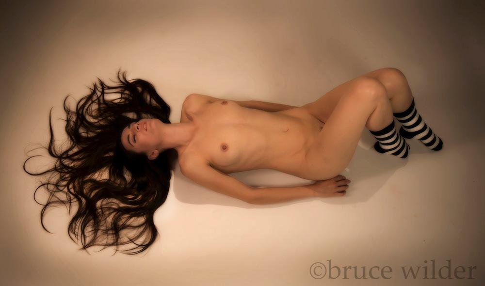 Dakota Snow with Socks by Bruce Wilder