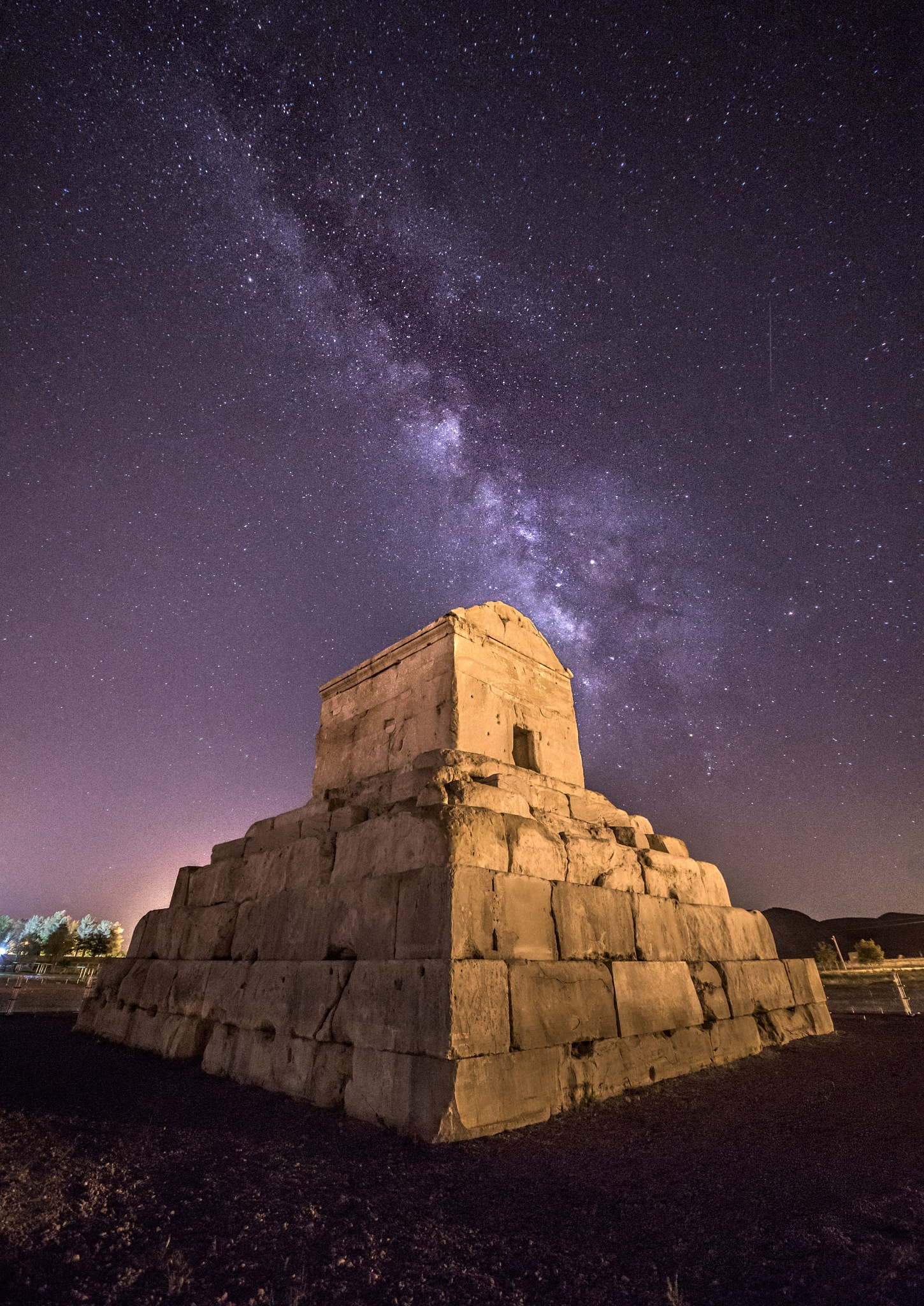 The Tomb of Cyrus the great  by Aria Aref