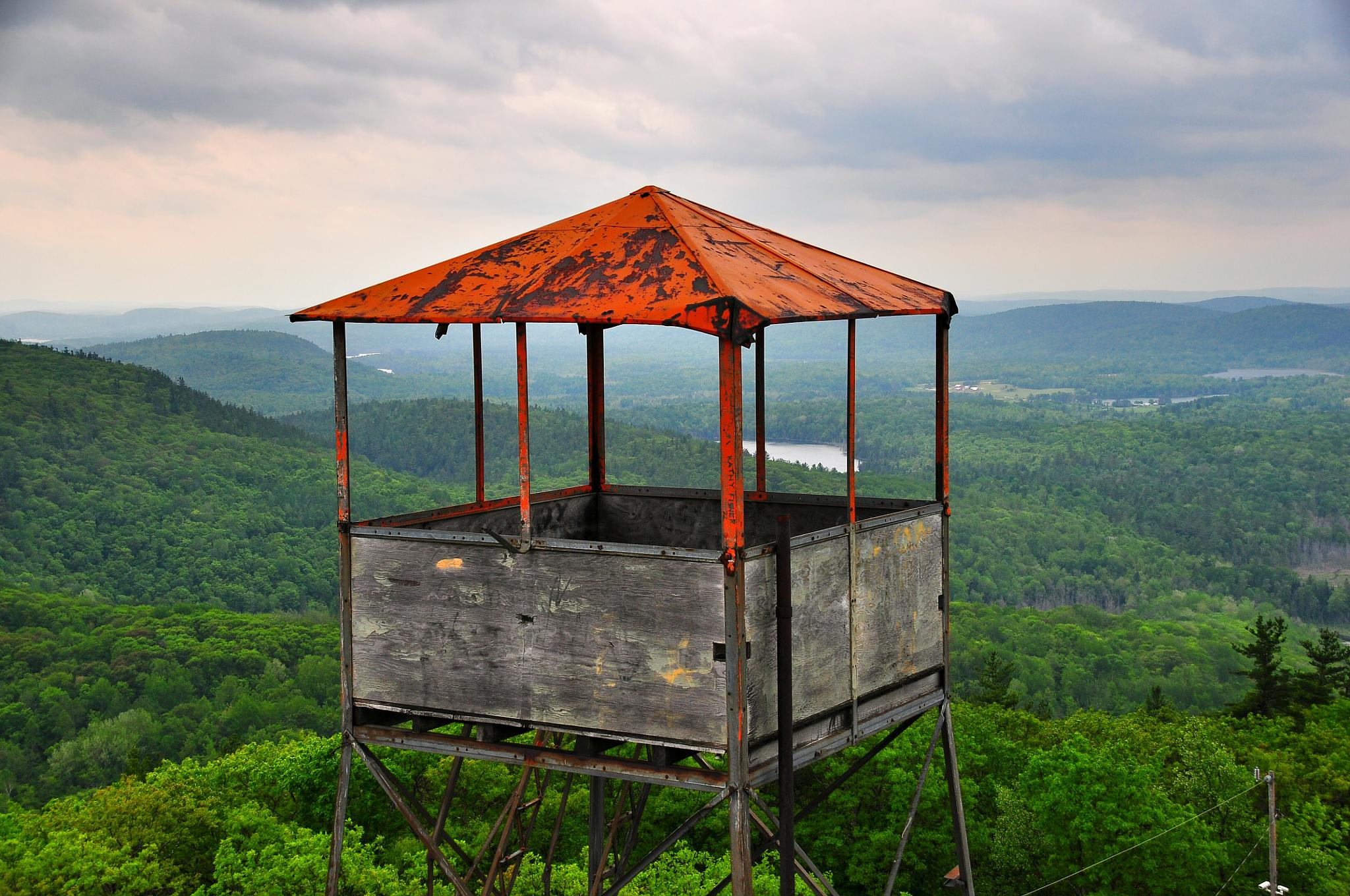 The fire tower by miket1713