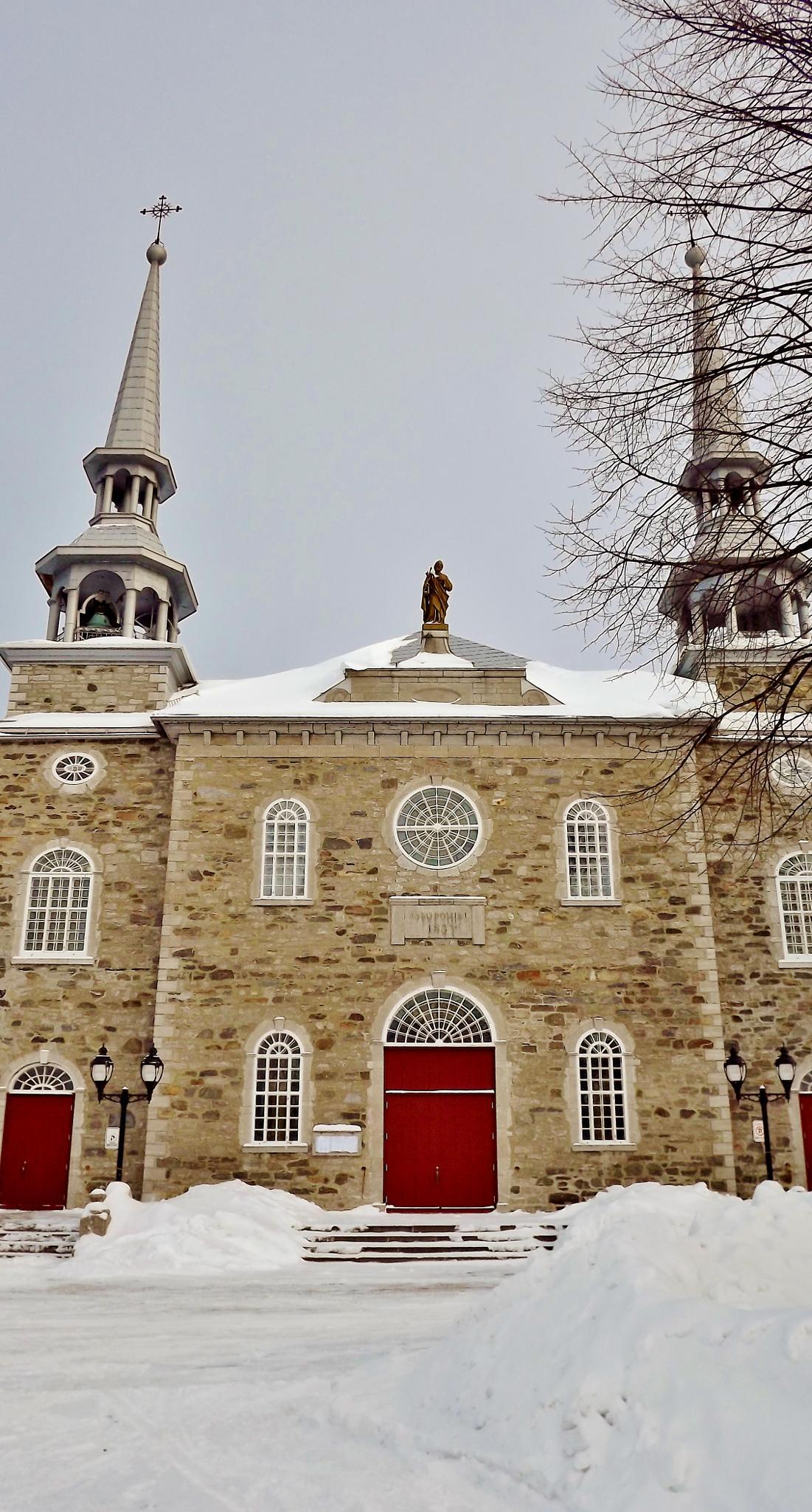 Église de Deschambault red door by real.michaud.5036