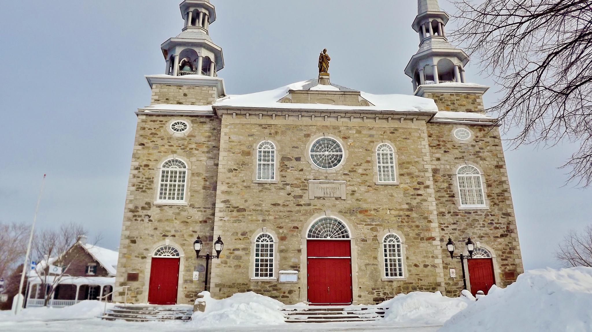 L'église de Deschambault by real.michaud.5036